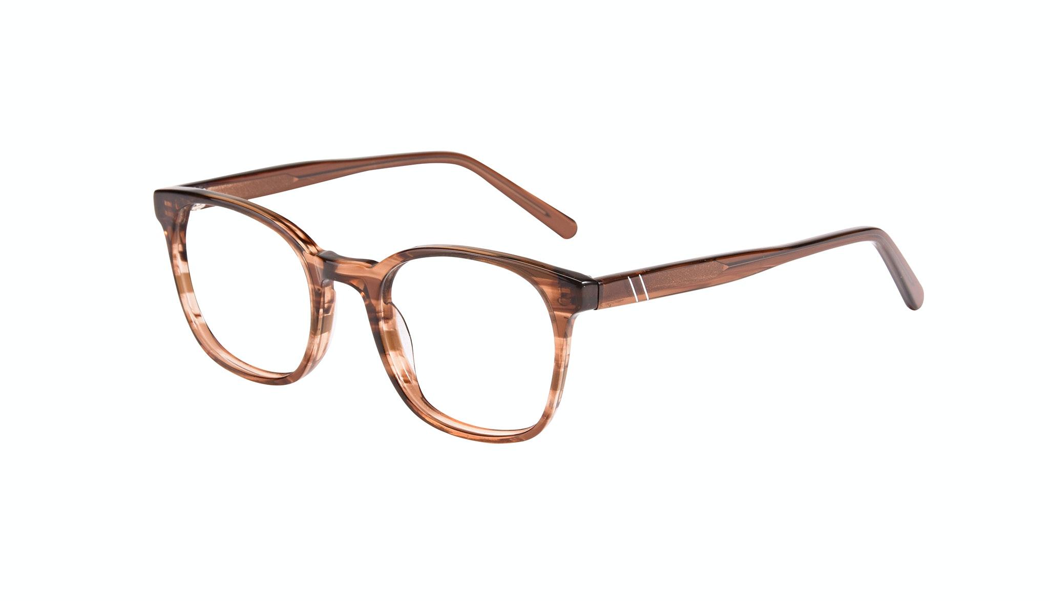 Affordable Fashion Glasses Rectangle Square Eyeglasses Men Peak Wood Tilt
