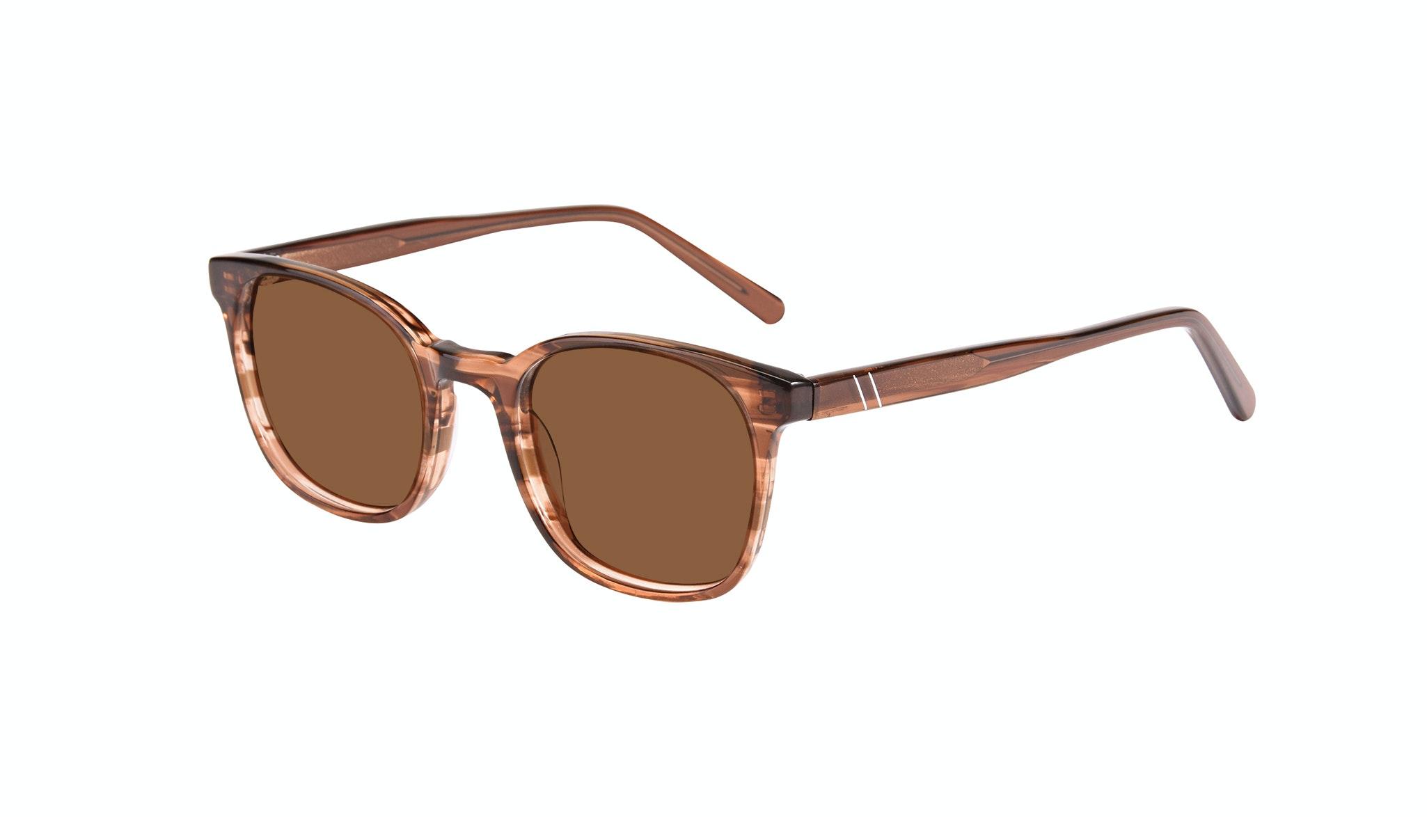 Affordable Fashion Glasses Rectangle Square Sunglasses Men Peak Wood Tilt