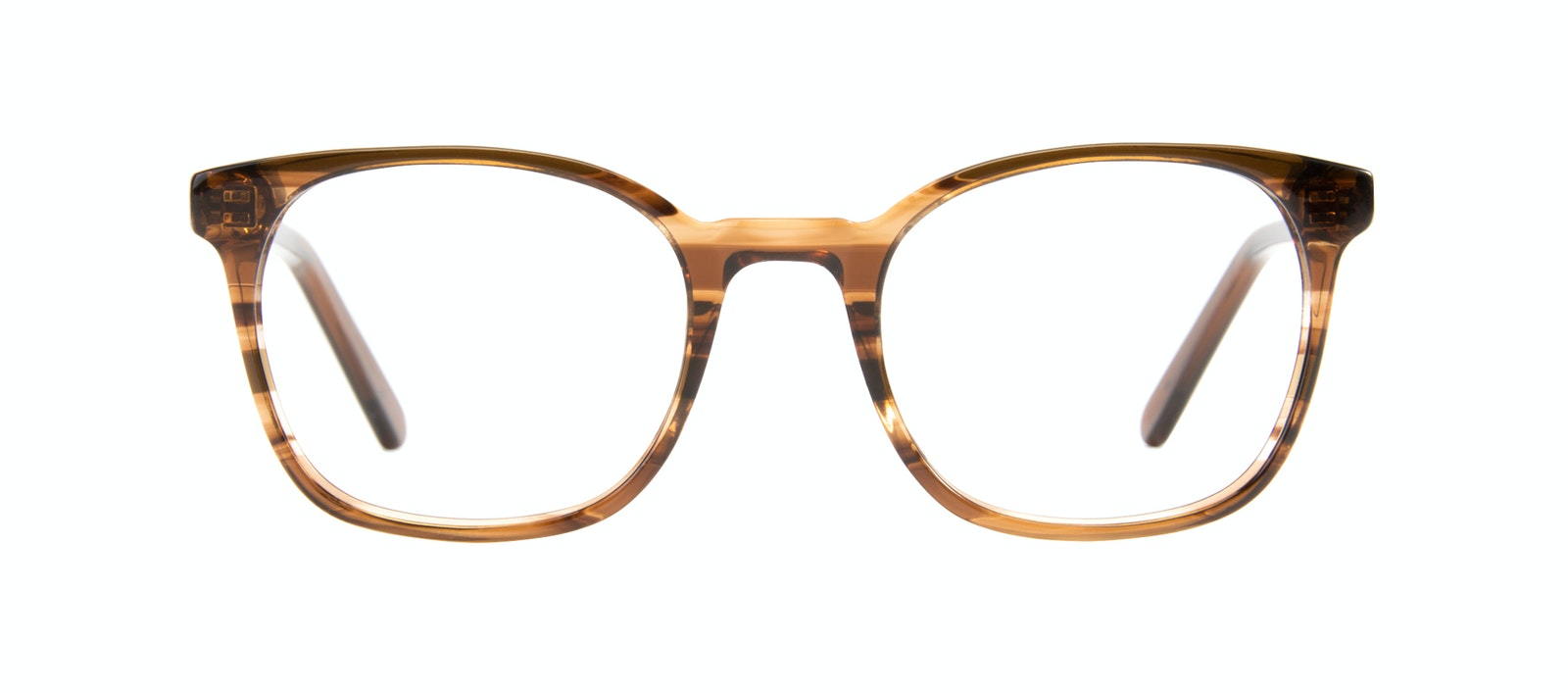 Affordable Fashion Glasses Rectangle Square Eyeglasses Men Peak Wood Front