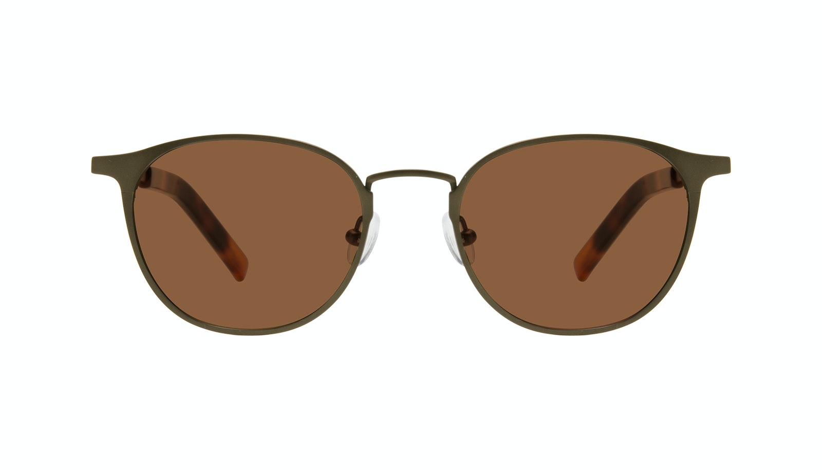 Affordable Fashion Glasses Round Sunglasses Men Point Khaki
