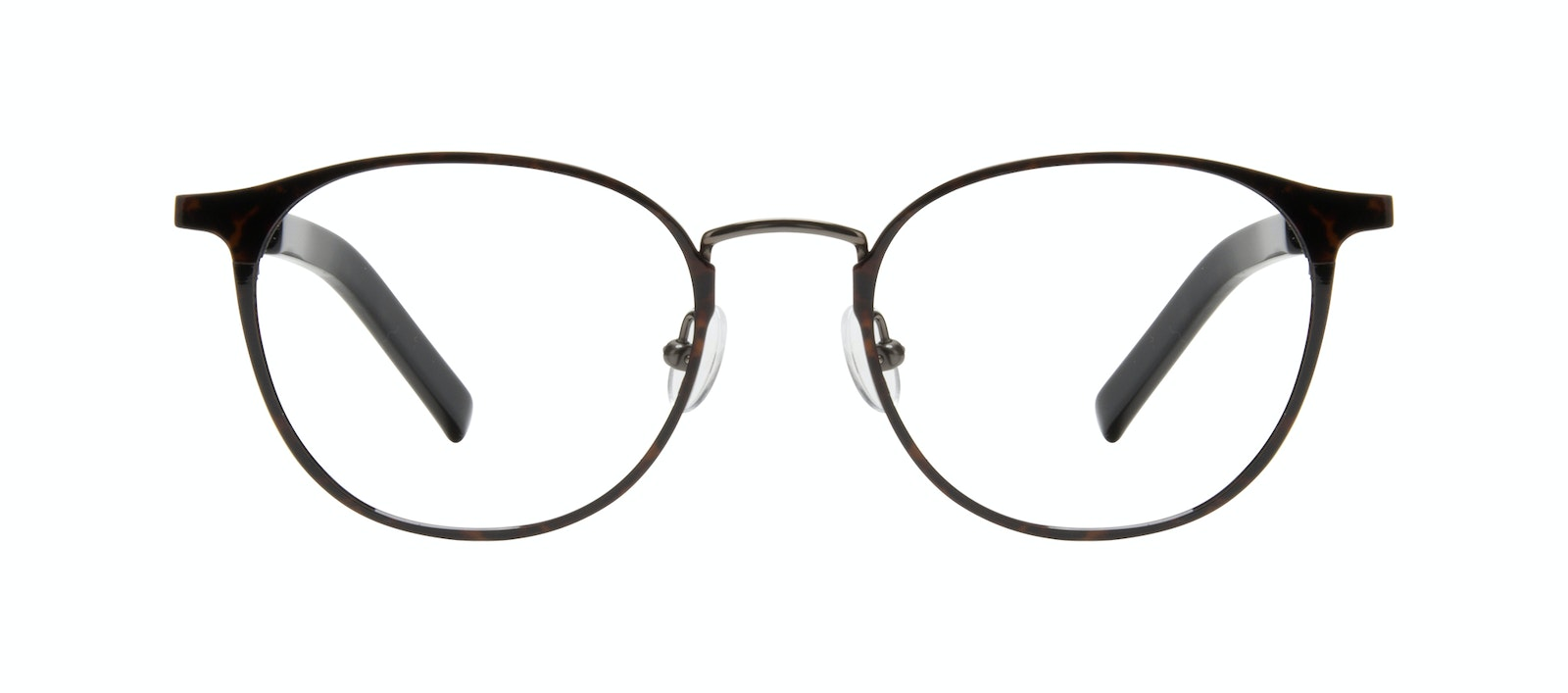 Affordable Fashion Glasses Round Eyeglasses Men Point Tortoise Front