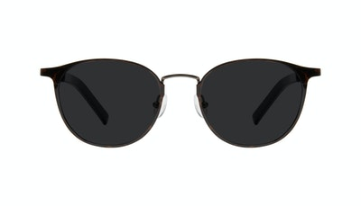 Affordable Fashion Glasses Round Sunglasses Men Point Tortoise Front