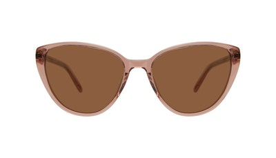 Affordable Fashion Glasses Cat Eye Sunglasses Women Poise Rose Front