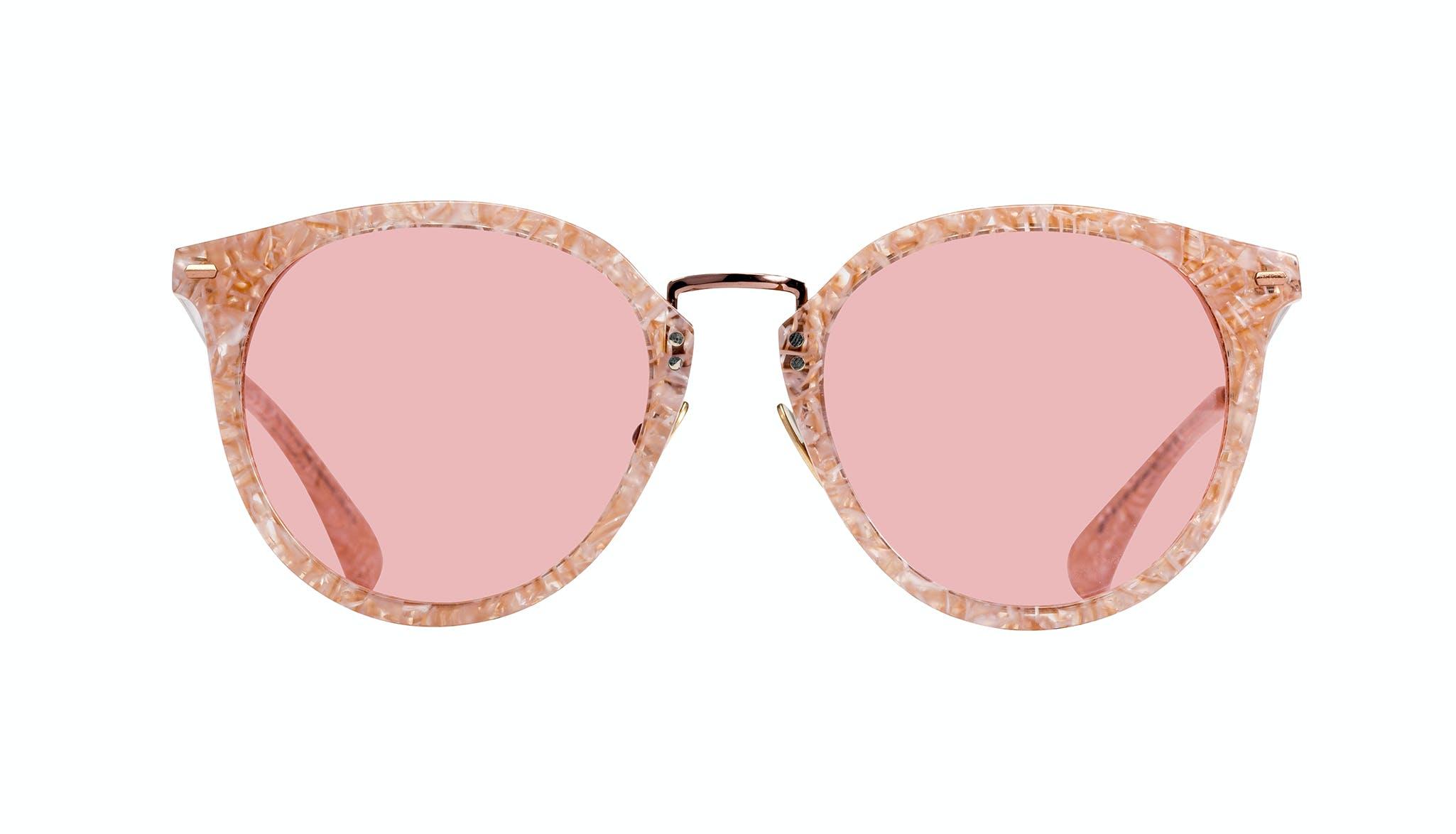 Lunettes tendance Ronde Lunettes de soleil Femmes Poppy Provence