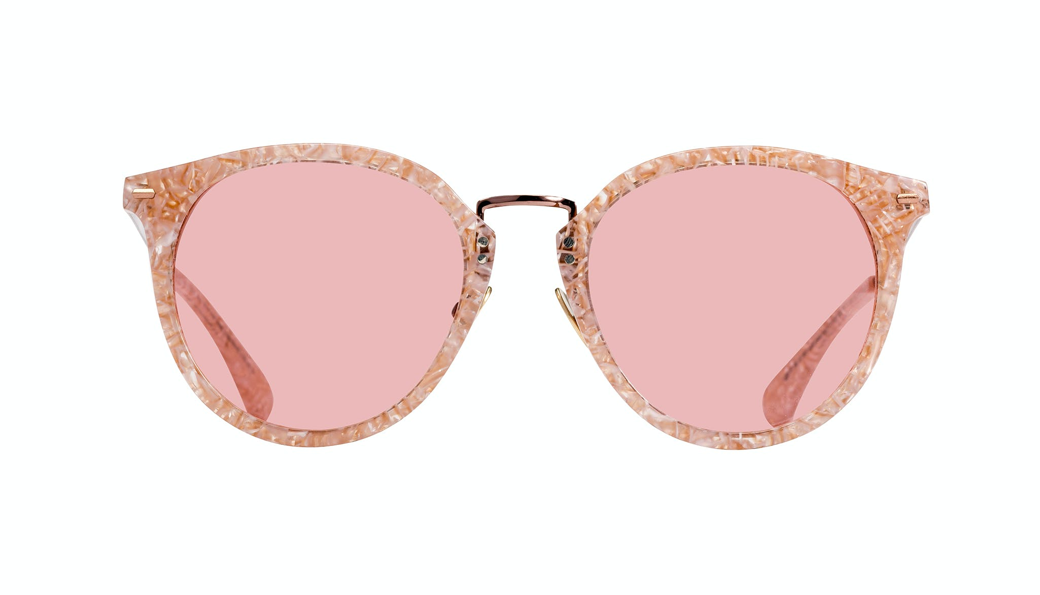 Affordable Fashion Glasses Round Sunglasses Women Poppy Provence