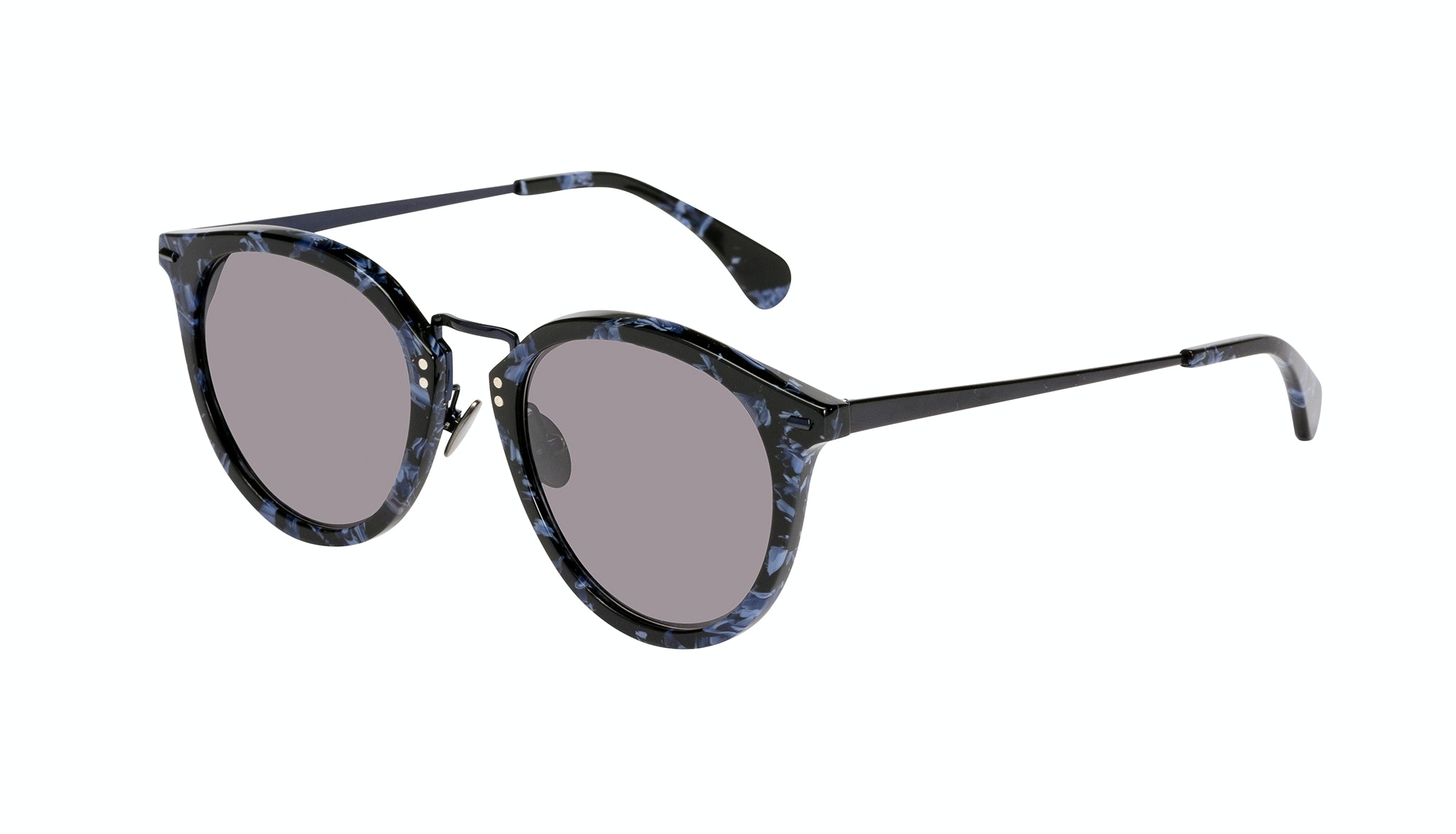 Affordable Fashion Glasses Round Sunglasses Women Poppy Rey Tilt