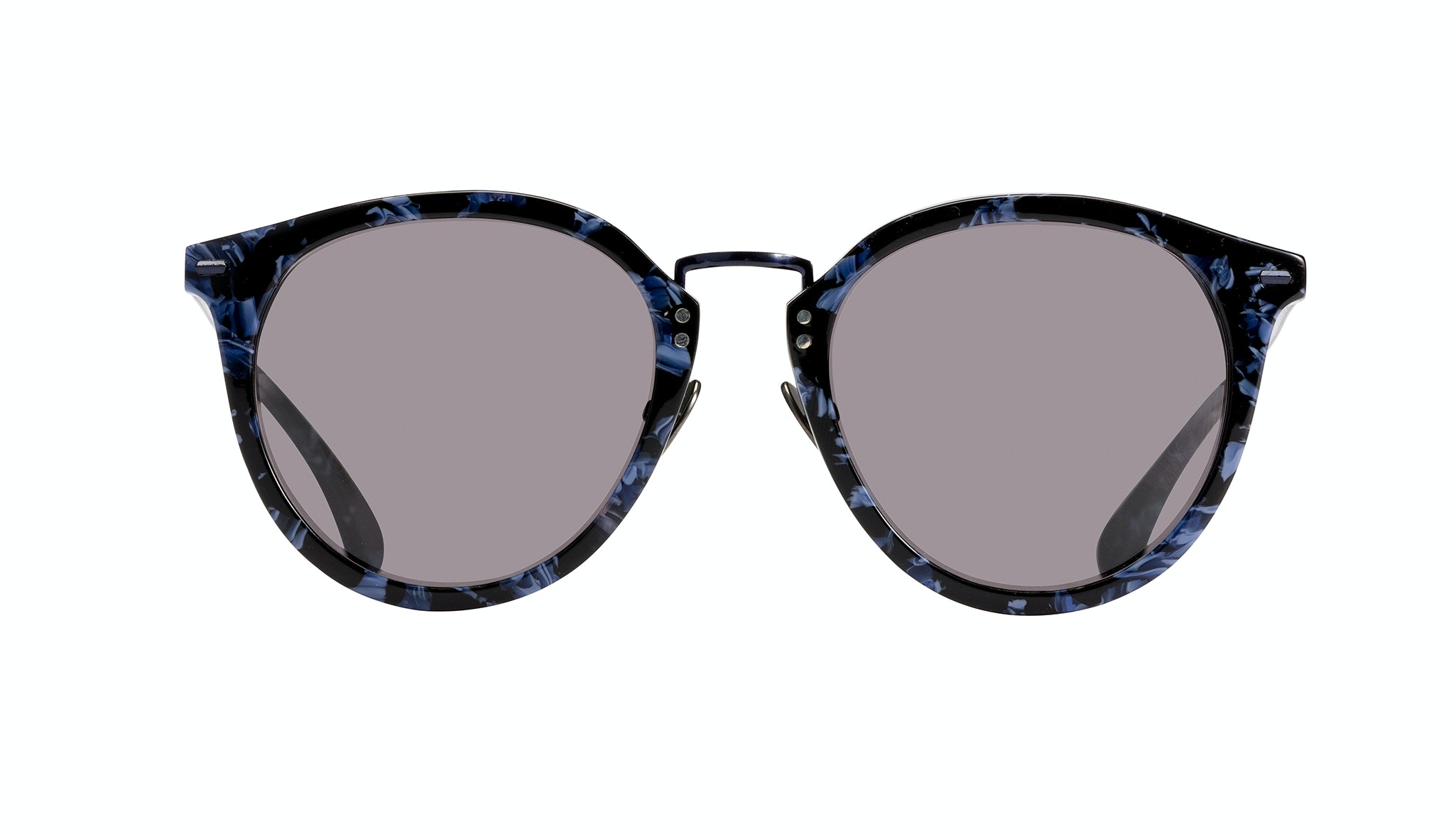 Affordable Fashion Glasses Round Sunglasses Women Poppy Rey Front