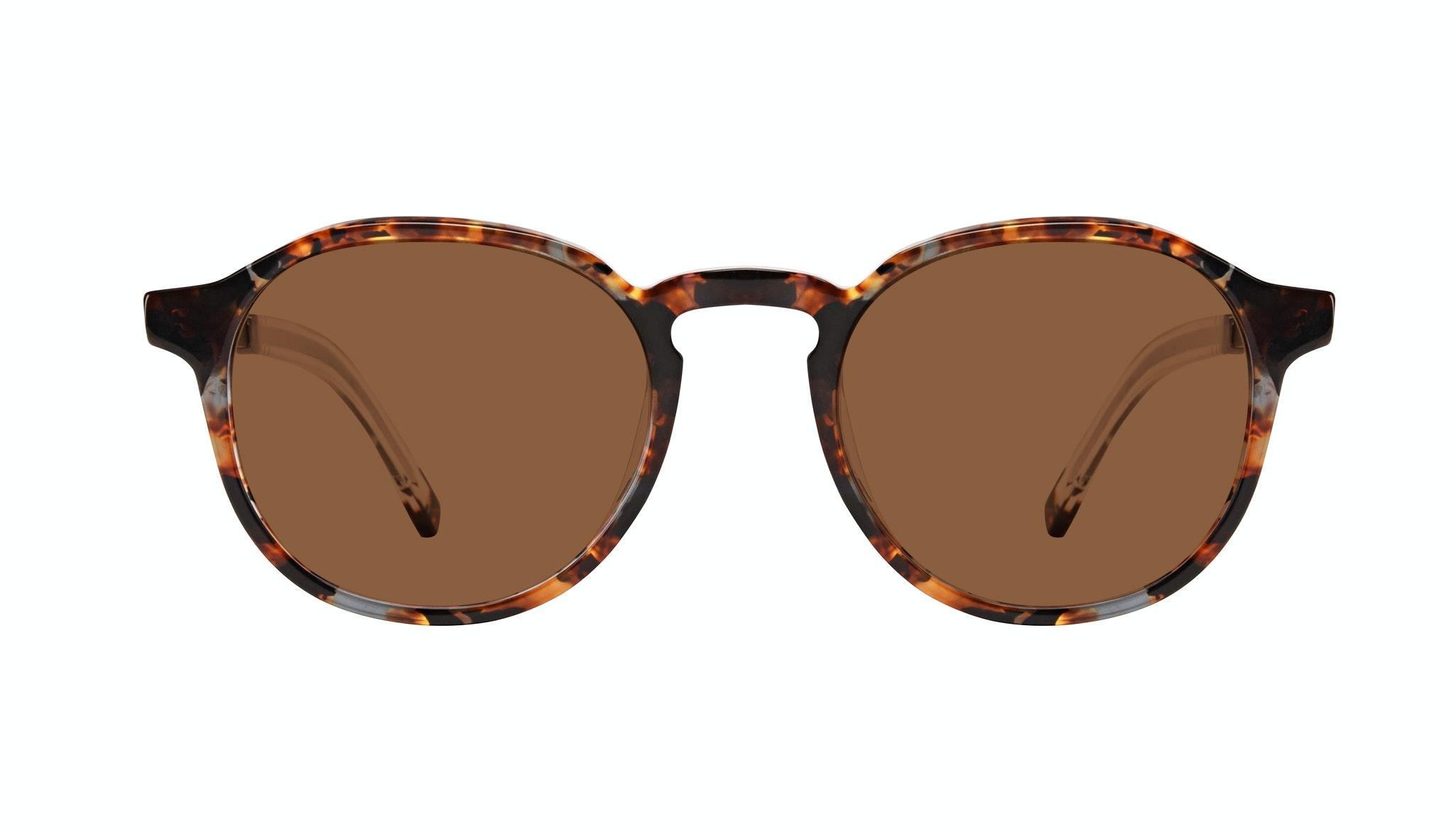 Affordable Fashion Glasses Round Sunglasses Men Prime XL Mahogany