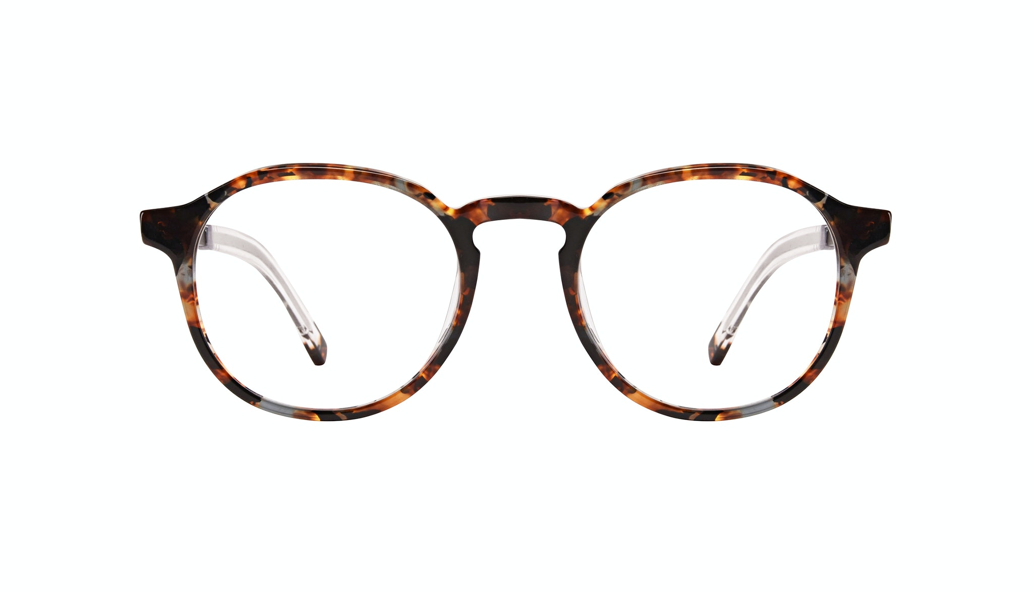 Affordable Fashion Glasses Round Eyeglasses Men Prime XL Mahogany