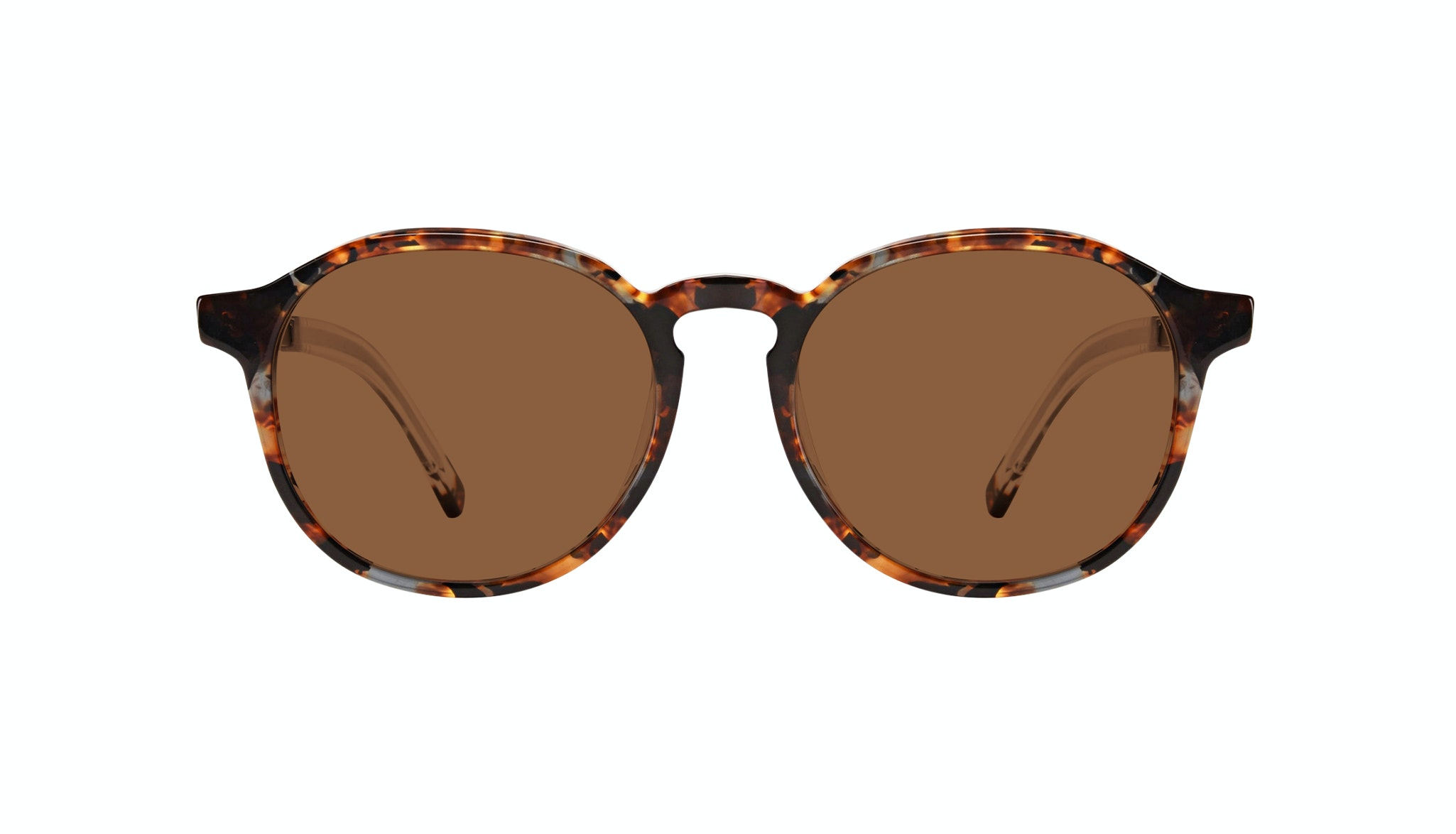 Affordable Fashion Glasses Round Sunglasses Men Prime XL Mahogany