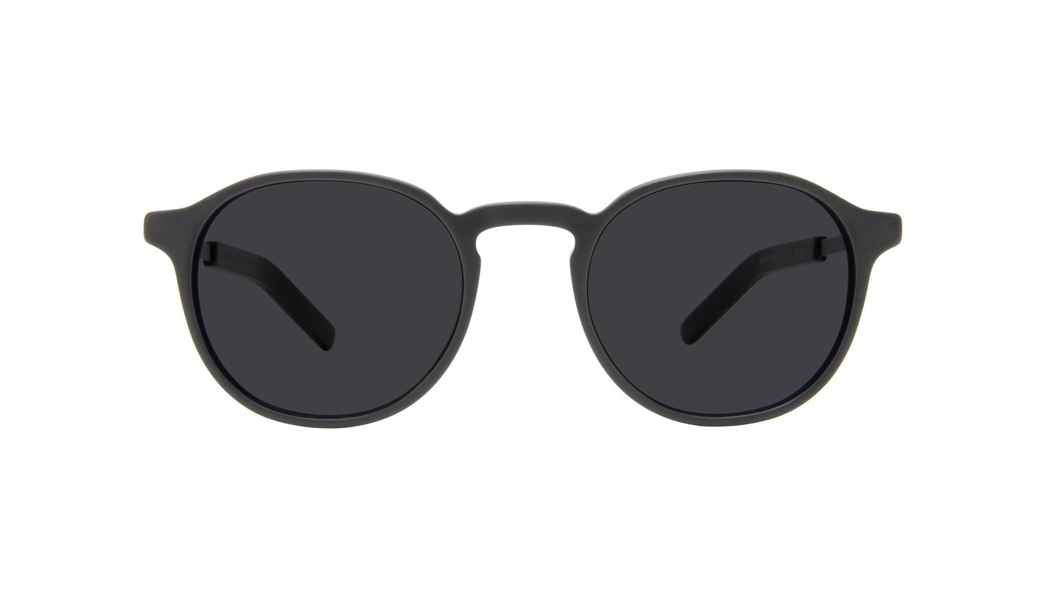 Affordable Fashion Glasses Round Eyeglasses Men Prime XL Matte Black