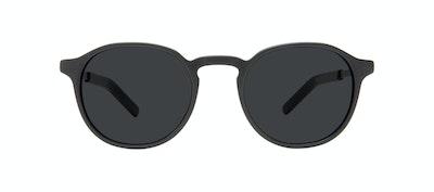 Affordable Fashion Glasses Round Sunglasses Men Prime L Matte Black Front