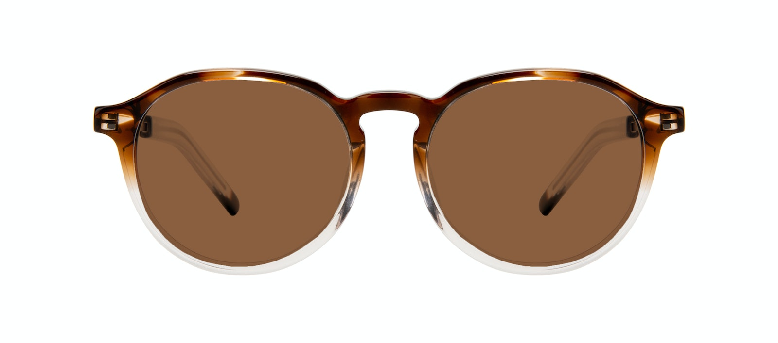 Affordable Fashion Glasses Round Sunglasses Men Prime Bark Front