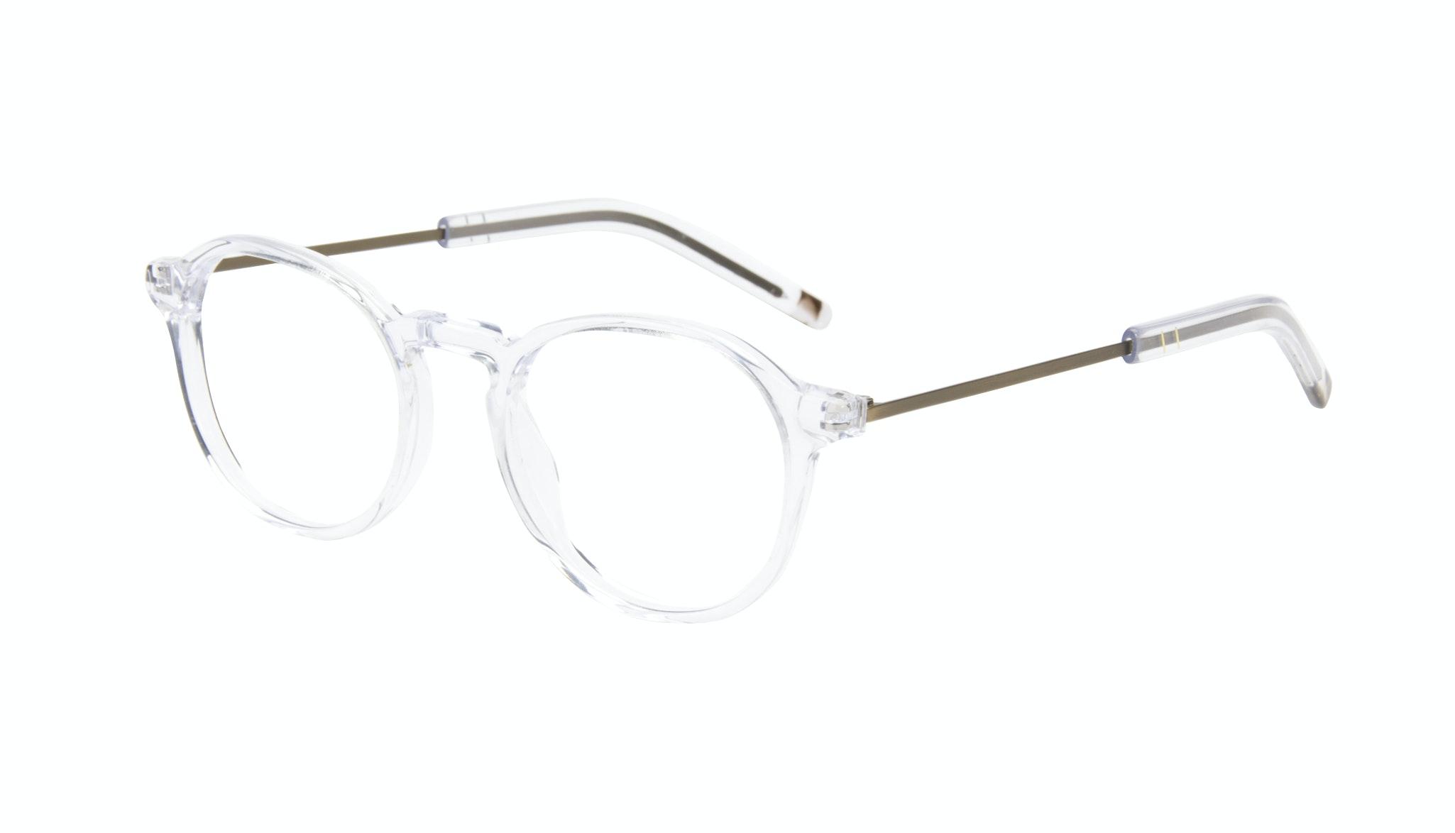 Affordable Fashion Glasses Round Eyeglasses Men Prime Clear Tilt
