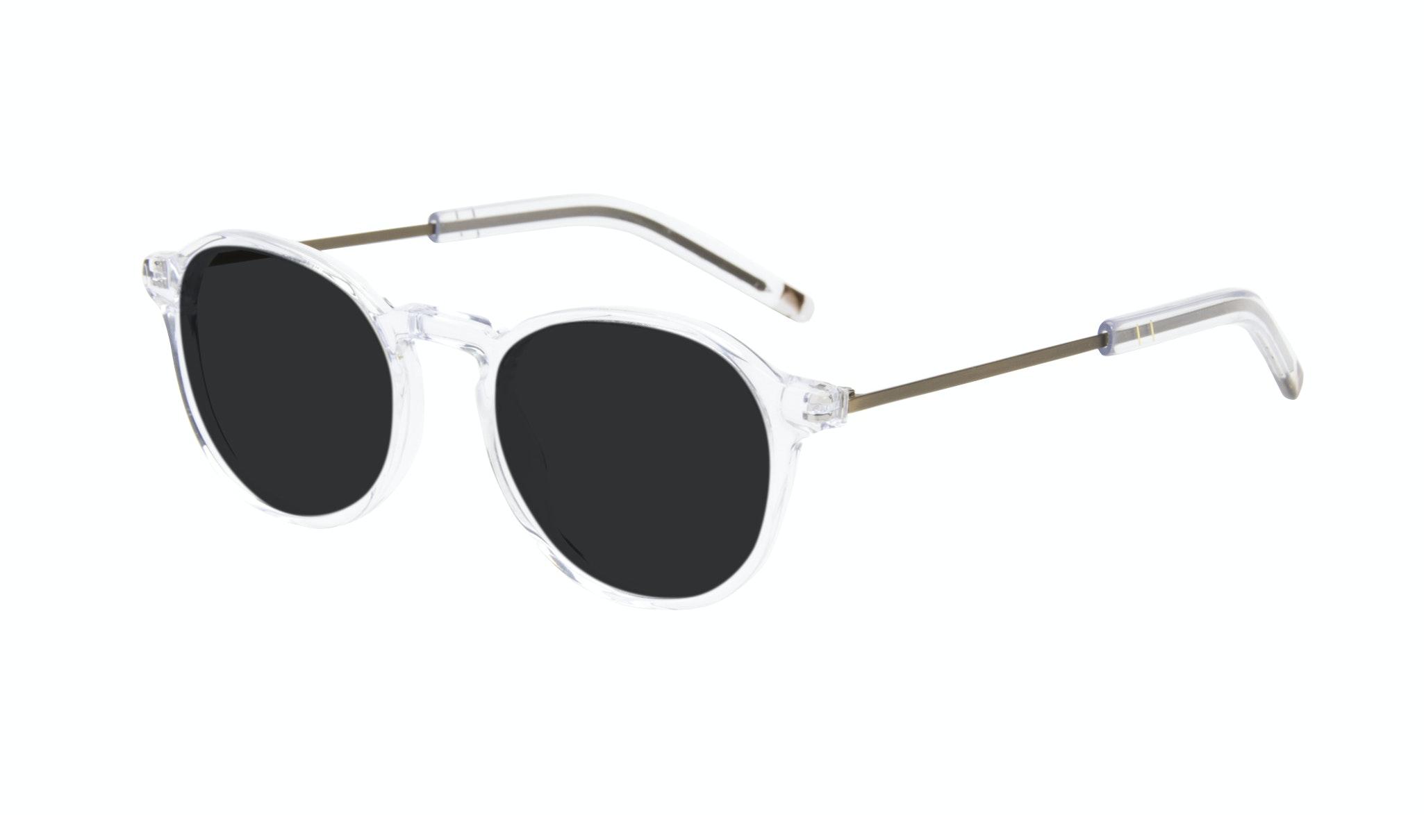 Affordable Fashion Glasses Round Sunglasses Men Prime Clear Tilt