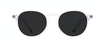 Affordable Fashion Glasses Round Sunglasses Men Prime Clear Front