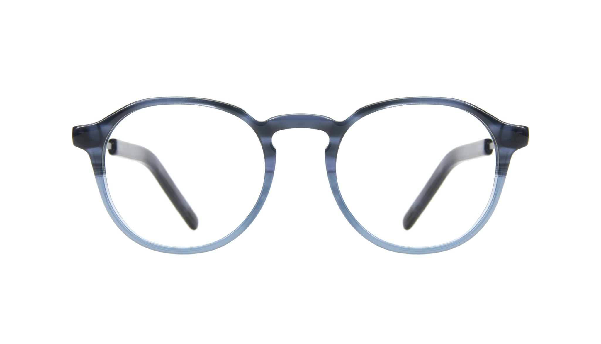 Affordable Fashion Glasses Round Eyeglasses Men Prime Ink Front