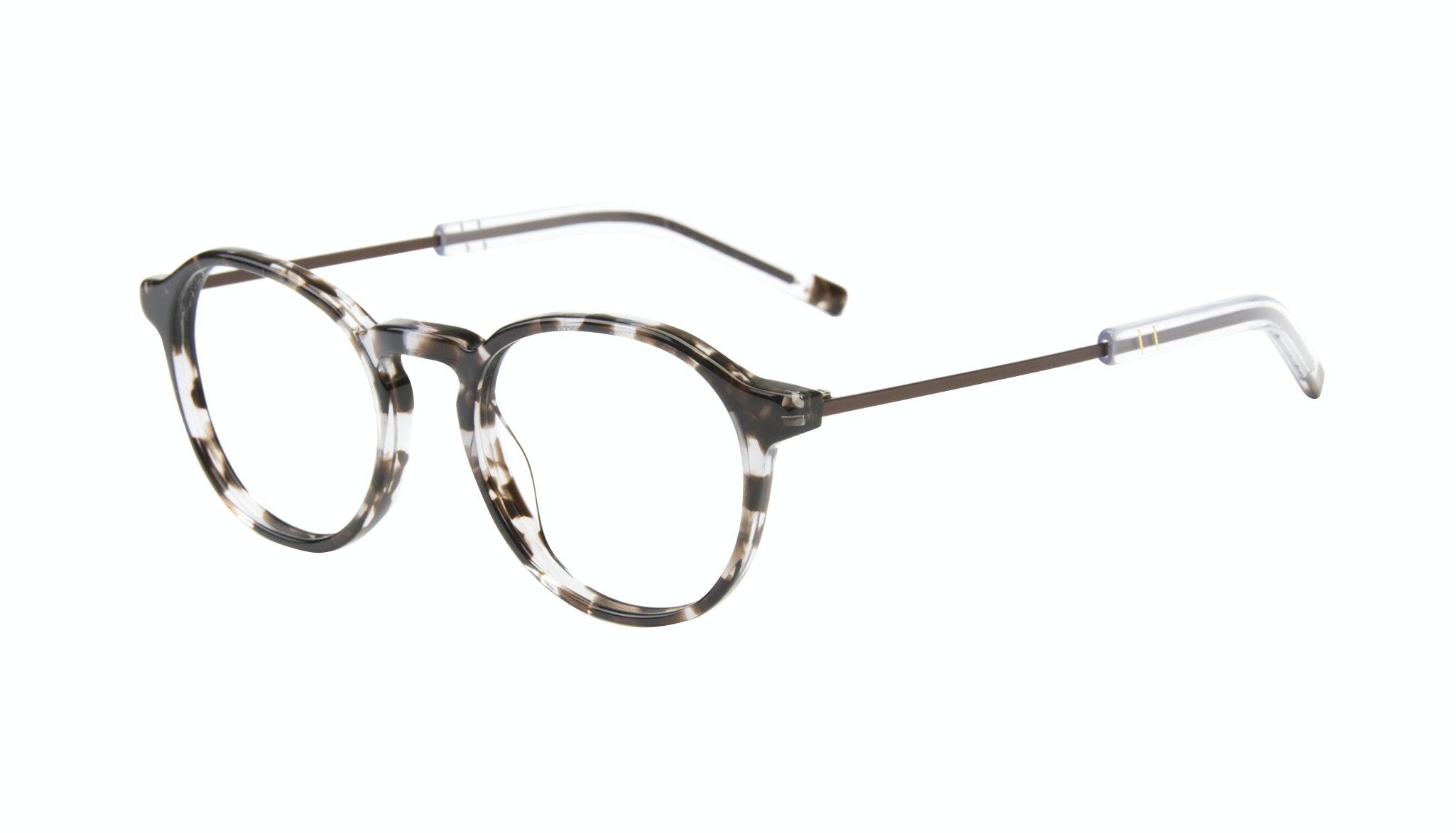 Affordable Fashion Glasses Round Eyeglasses Men Prime Mud Tort Tilt