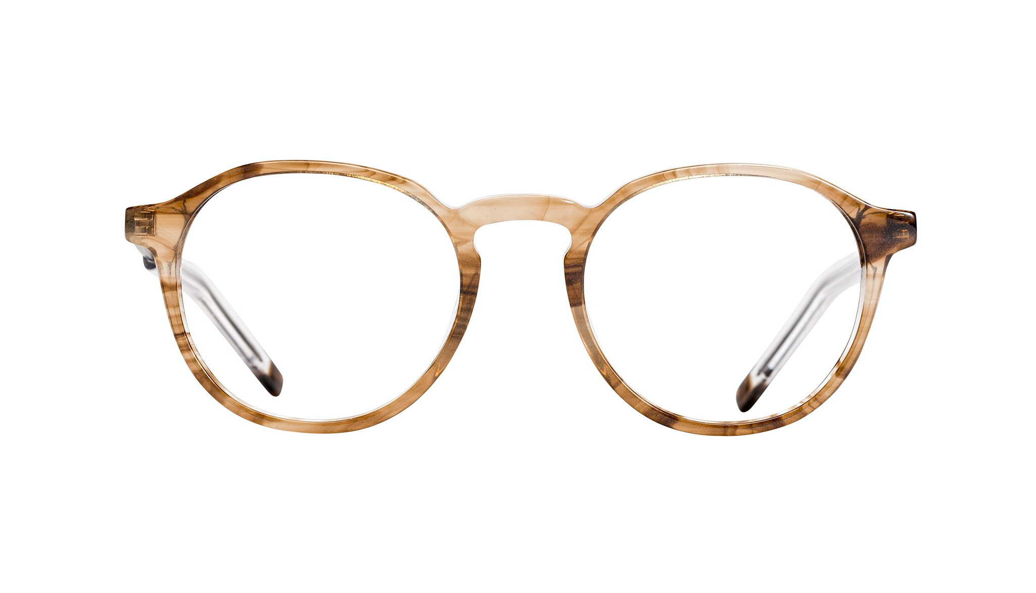 Affordable Fashion Glasses Round Eyeglasses Men Prime Smokey Havana Front