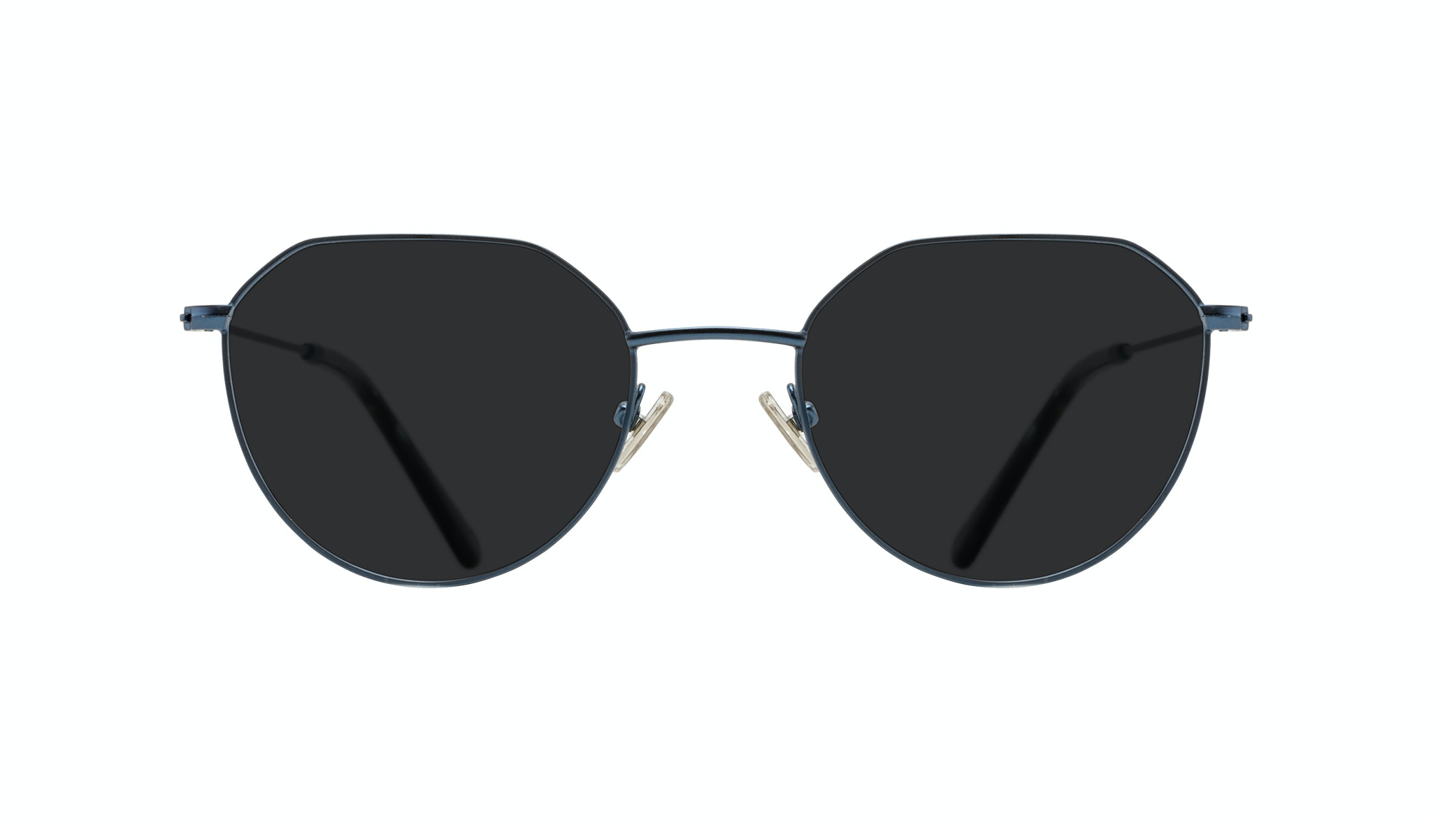 Affordable Fashion Glasses Round Sunglasses Women Prism Marine Front