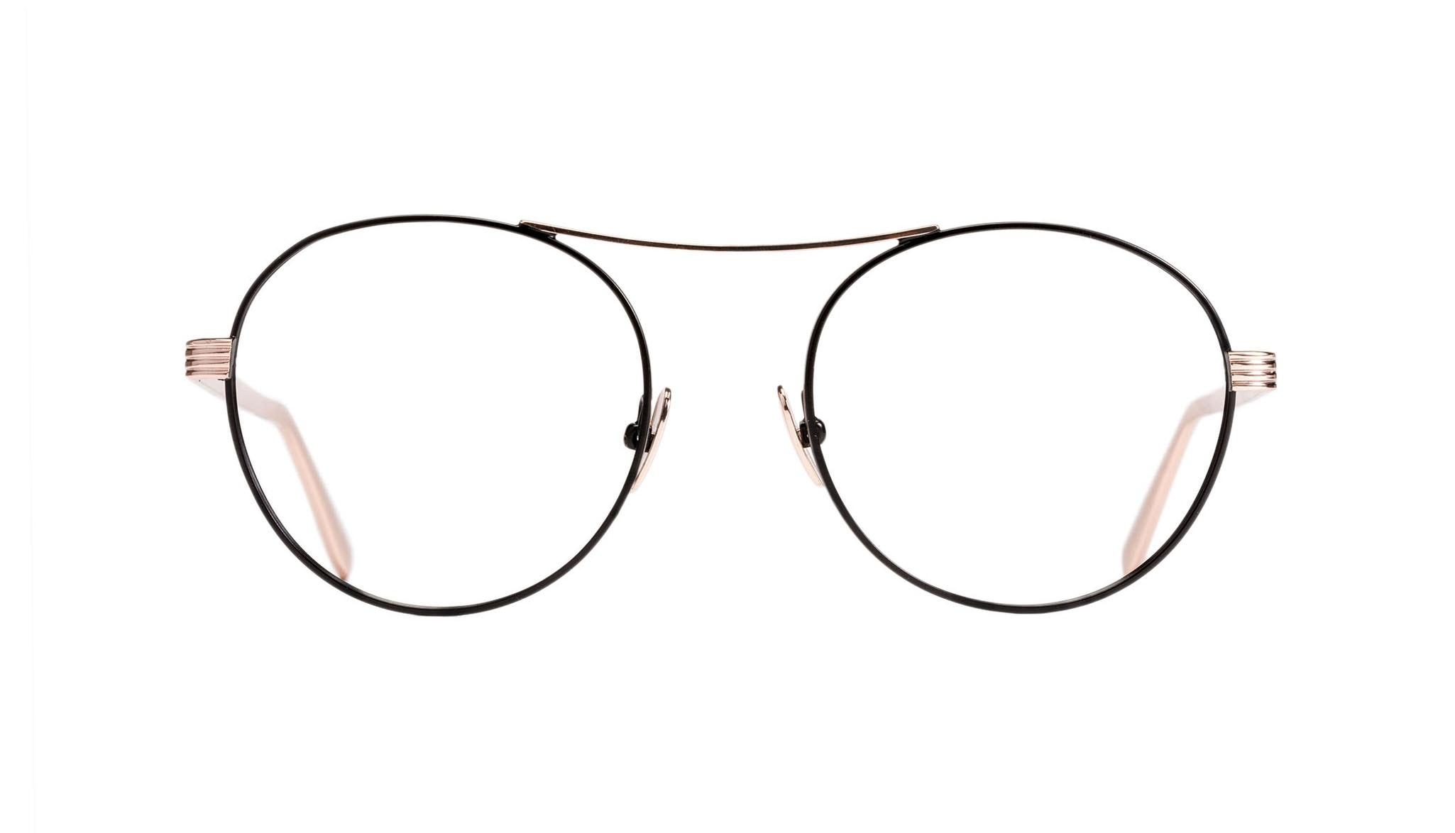 Affordable Fashion Glasses Round Eyeglasses Women Prize Deep Gold