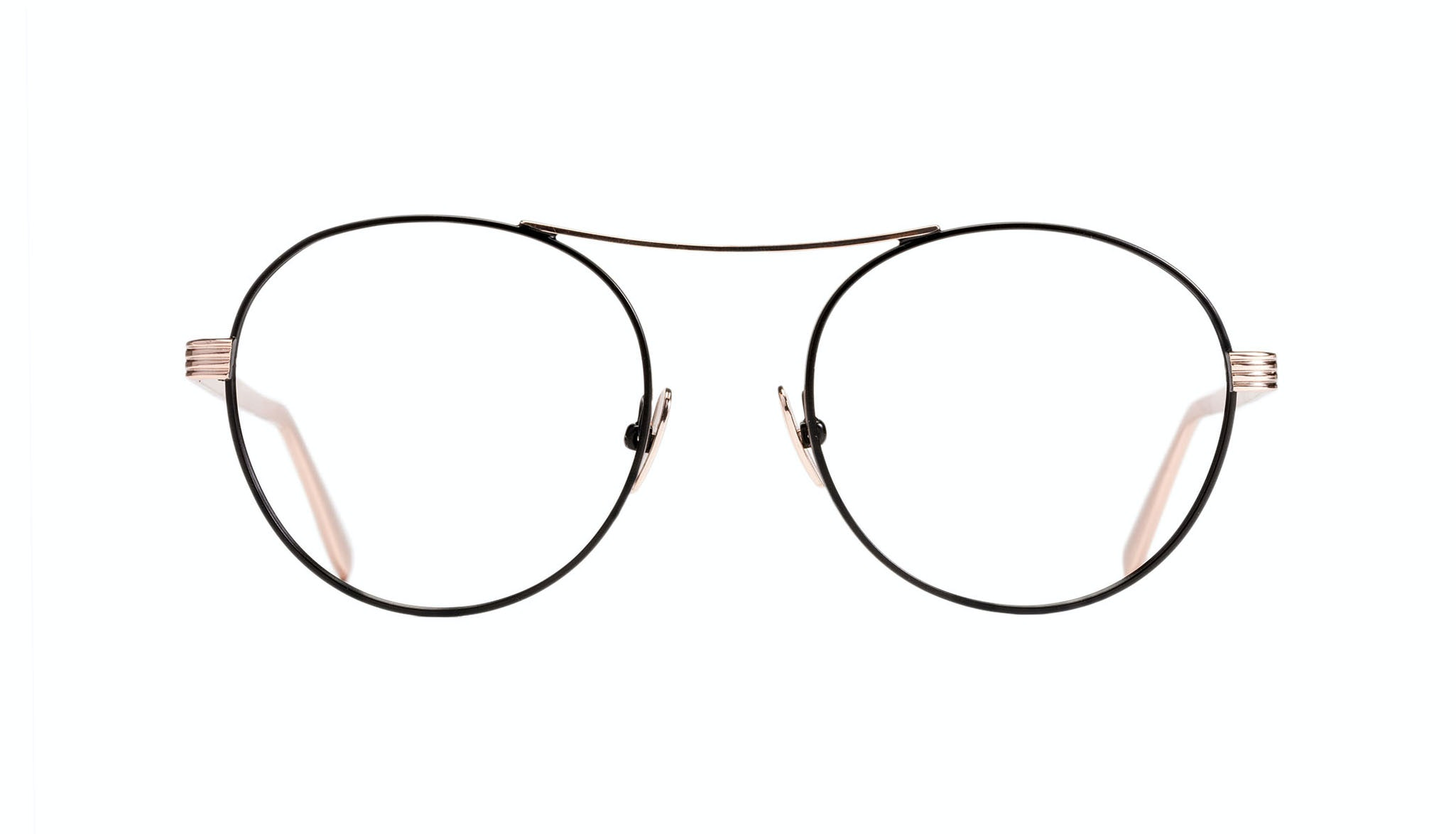 Affordable Fashion Glasses Round Eyeglasses Women Prize Deep Gold