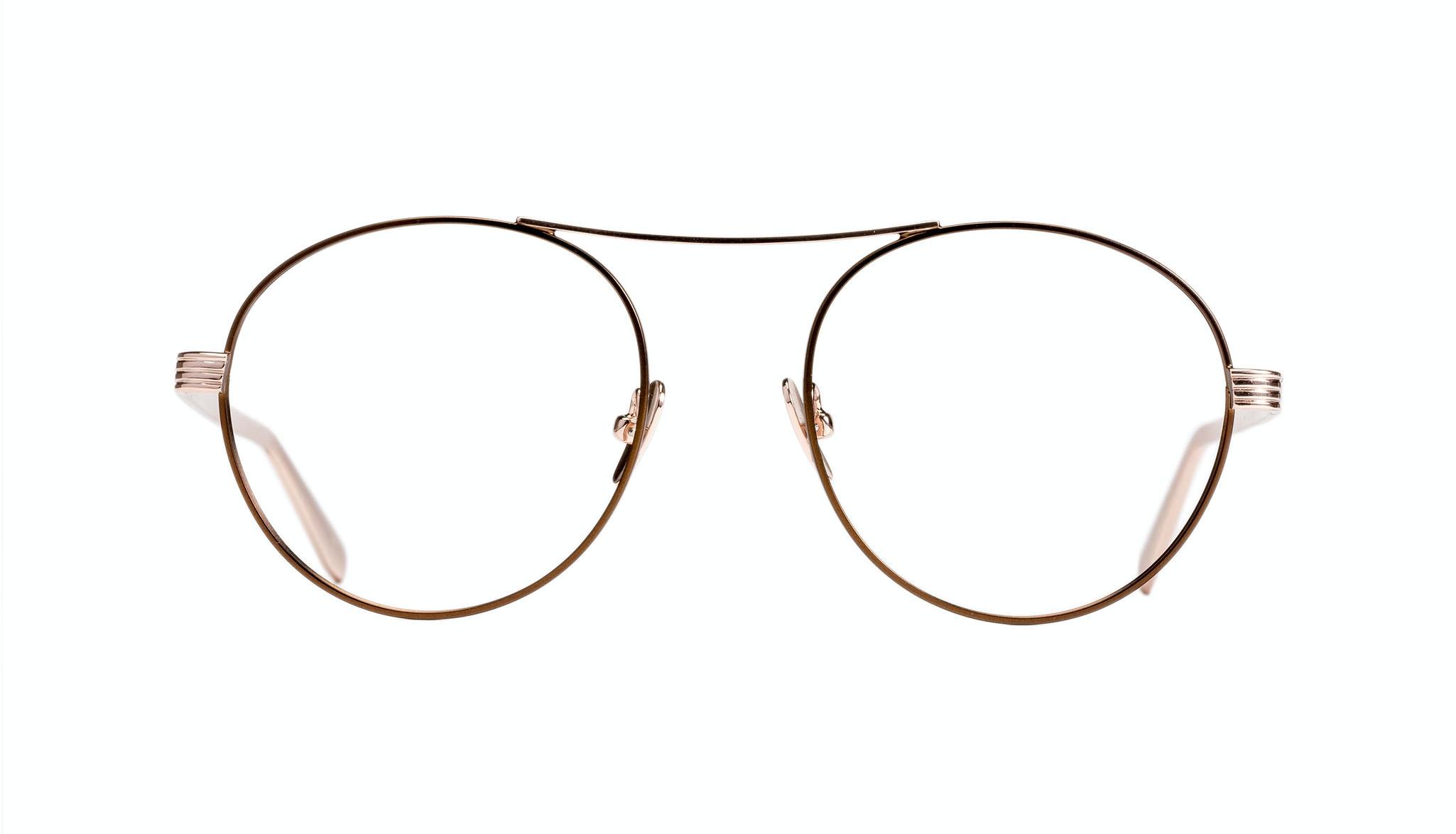 Affordable Fashion Glasses Round Eyeglasses Women Prize Golden Lilac