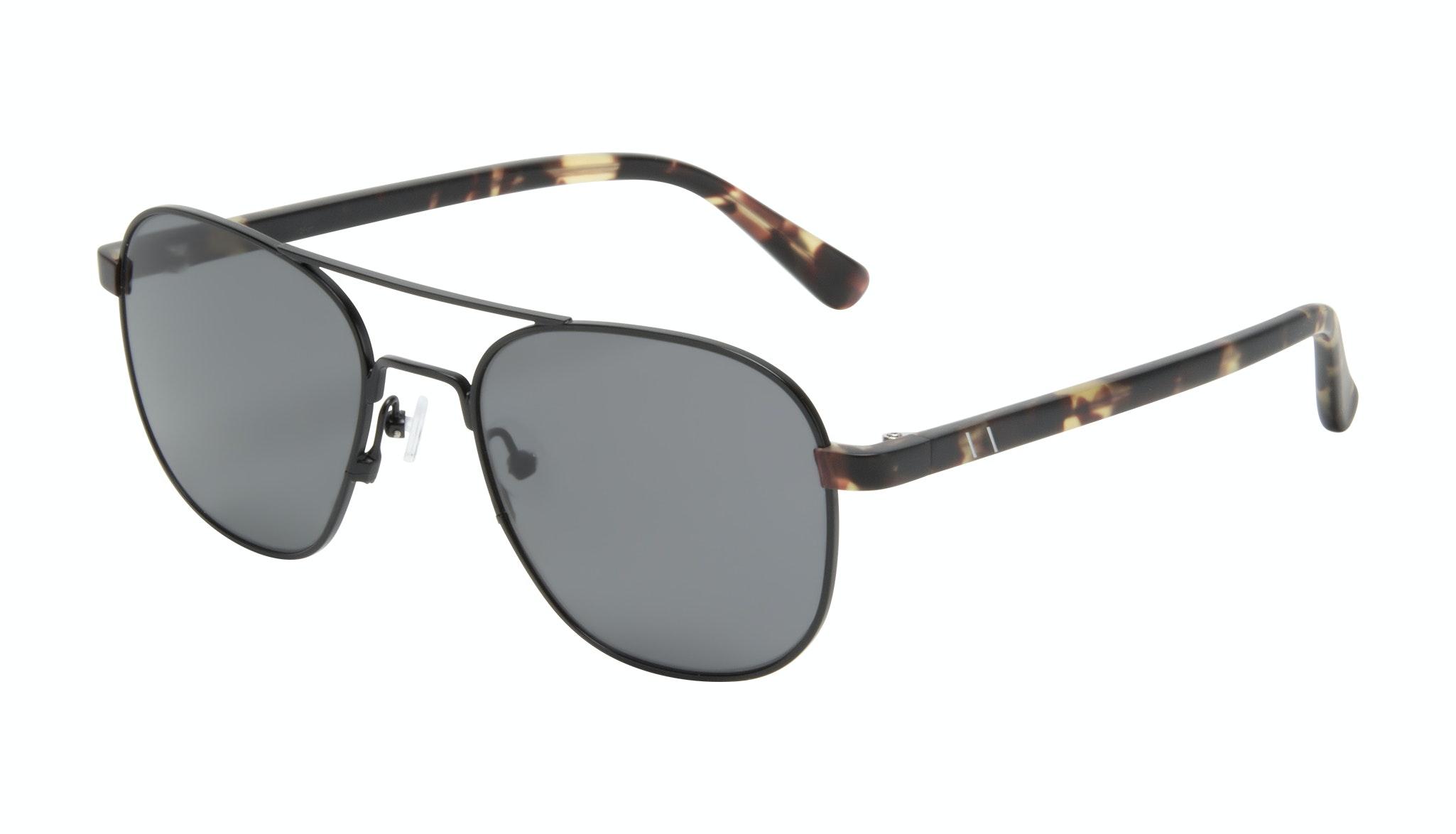 Affordable Fashion Glasses Aviator Sunglasses Men Pulse Gun Metal Tilt