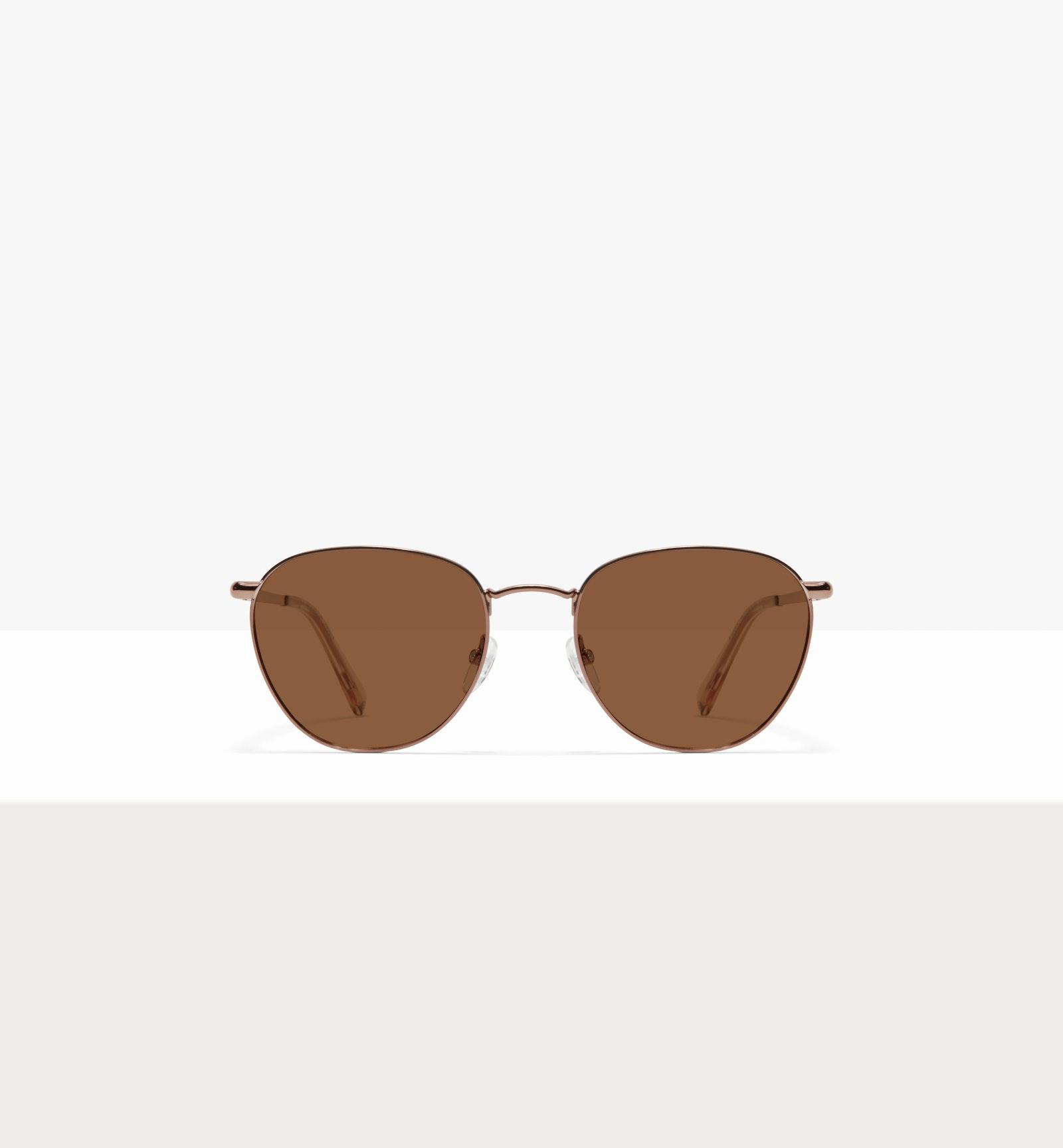Affordable Fashion Glasses Round Sunglasses Women Radiant L Copper