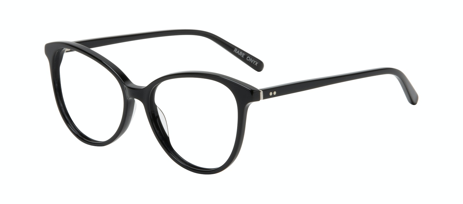 Affordable Fashion Glasses Cat Eye Eyeglasses Women Rare Onyx Tilt