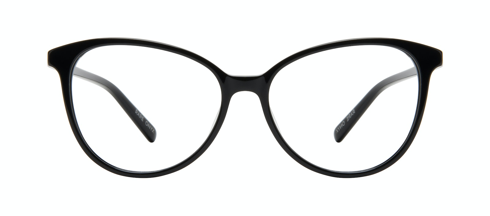Affordable Fashion Glasses Cat Eye Eyeglasses Women Rare Onyx Front