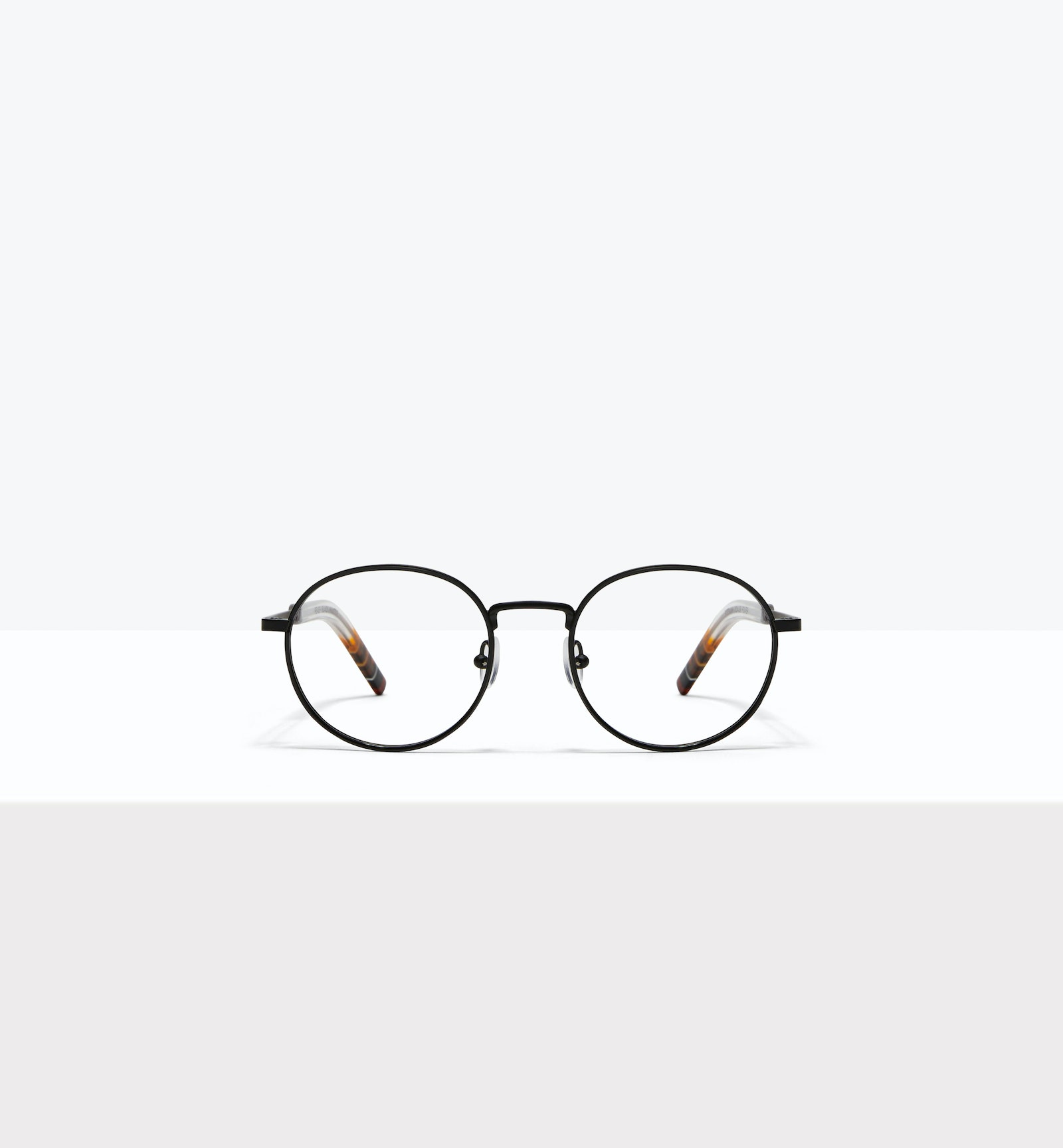 Affordable Fashion Glasses Round Eyeglasses Men Reach Matte Black