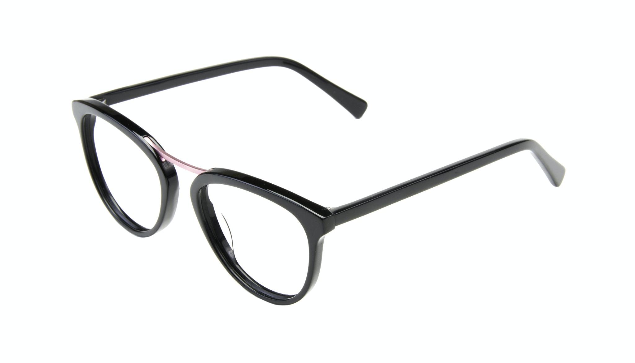 Affordable Fashion Glasses Cat Eye Round Eyeglasses Women Reef Deep Shell Tilt