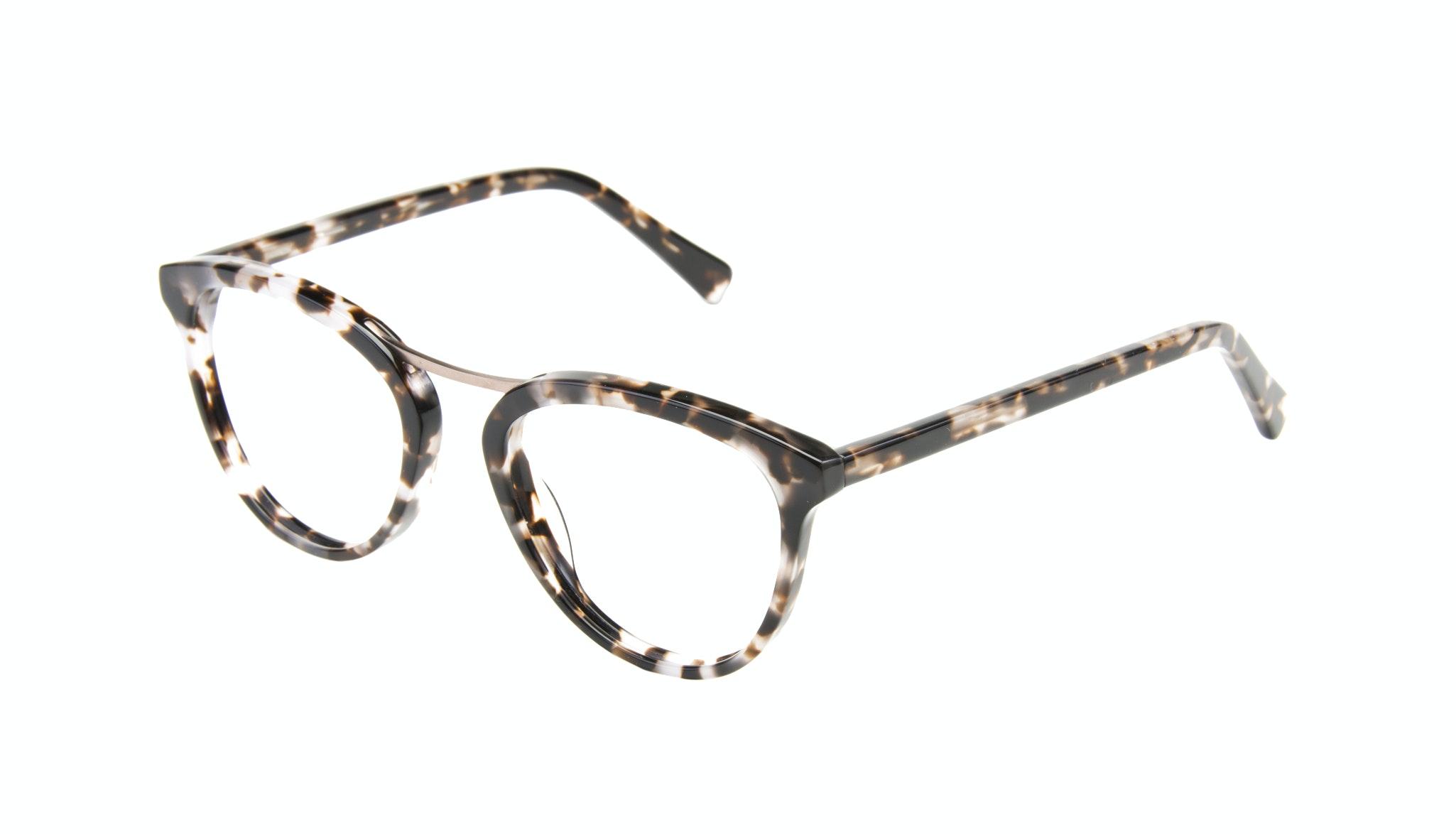 Affordable Fashion Glasses Cat Eye Round Eyeglasses Women Reef Sand Tilt