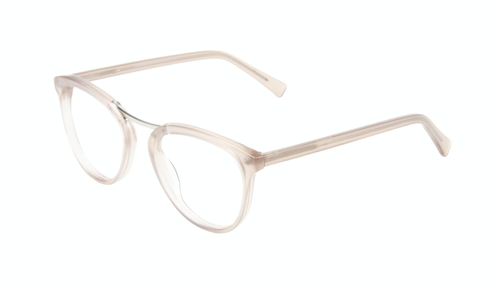 Affordable Fashion Glasses Cat Eye Round Eyeglasses Women Reef Shell Tilt