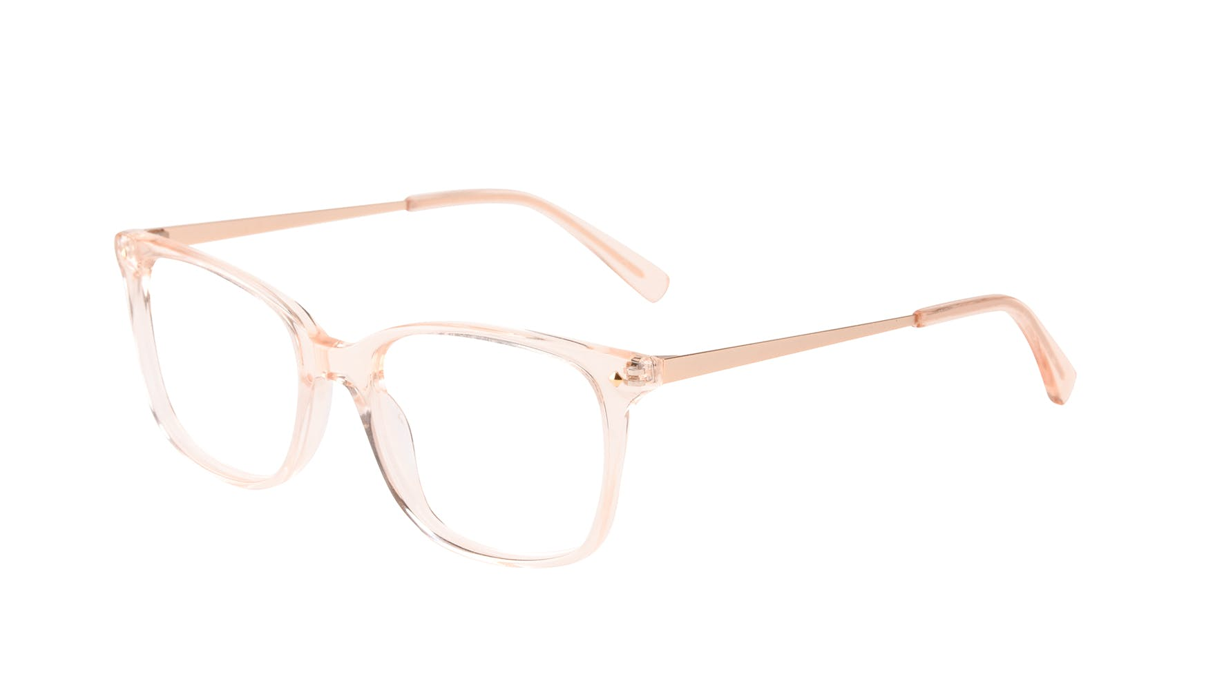 Affordable Fashion Glasses Rectangle Square Eyeglasses Women Refine Blond Tilt