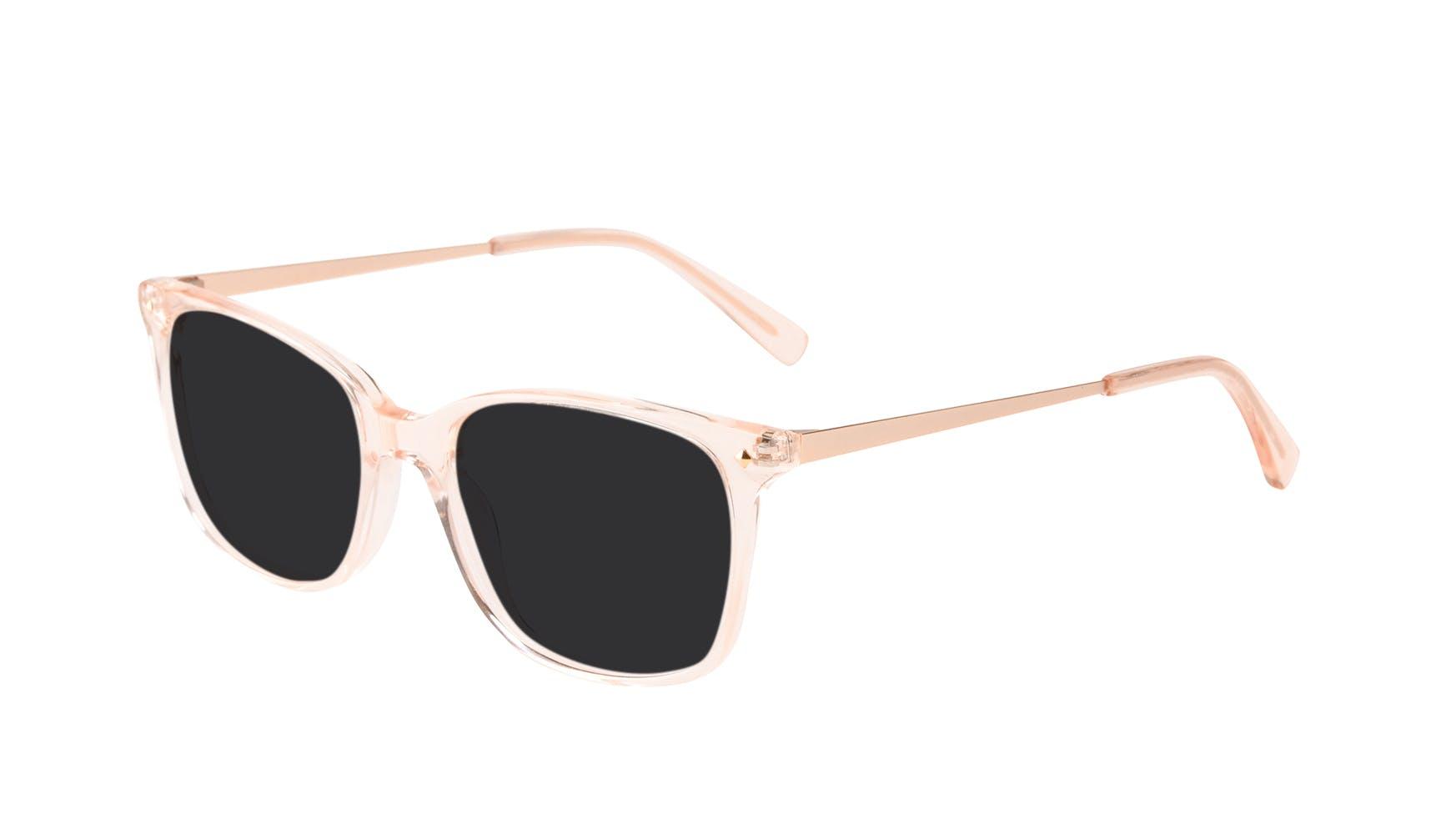 Affordable Fashion Glasses Rectangle Square Sunglasses Women Refine Blond Tilt