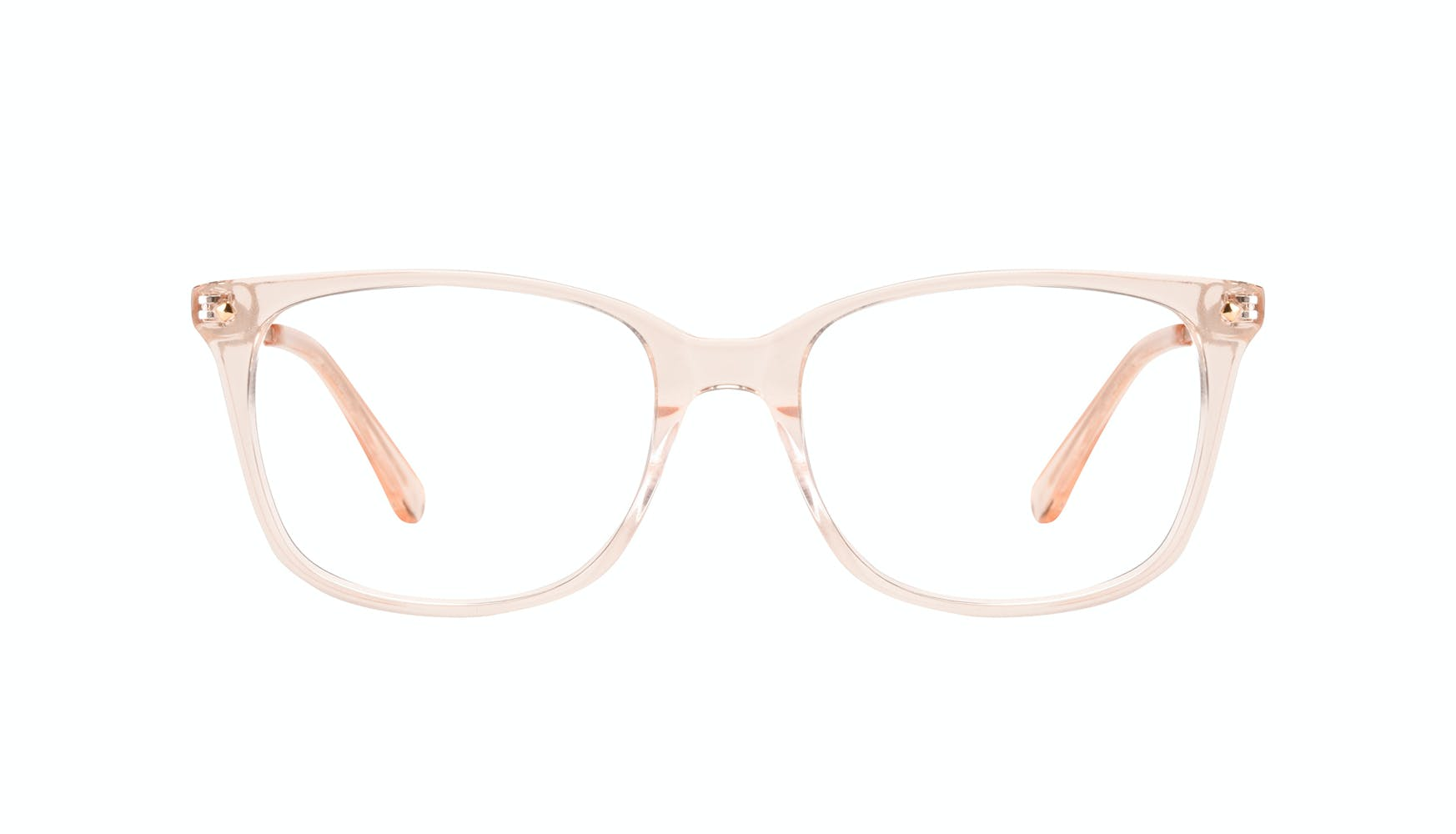 Affordable Fashion Glasses Rectangle Square Eyeglasses Women Refine Blond Front