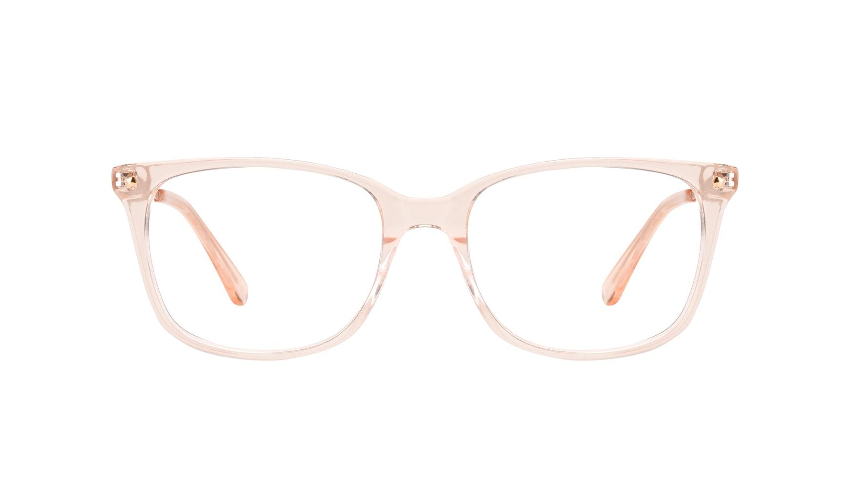 Affordable Fashion Glasses Rectangle Square Eyeglasses Women Refine Blond Front