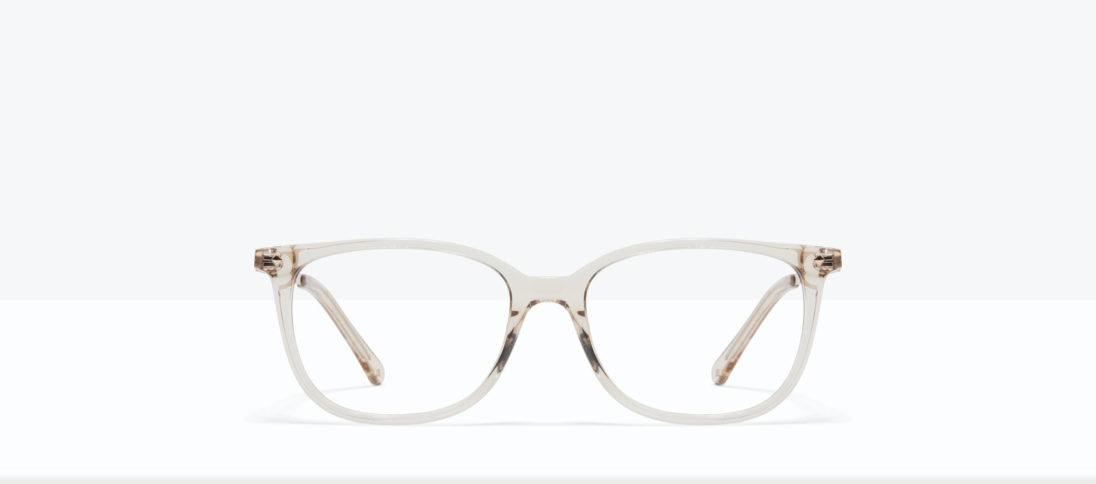 Affordable Fashion Glasses Rectangle Square Eyeglasses Women Refine M Blond Front