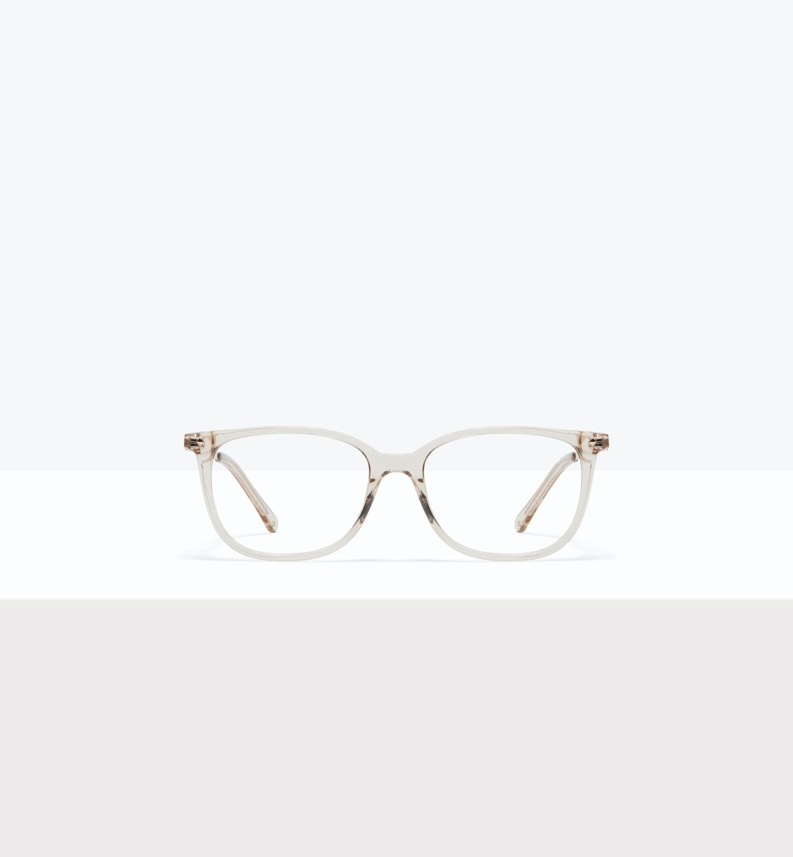 Affordable Fashion Glasses Rectangle Square Eyeglasses Women Refine S Blond