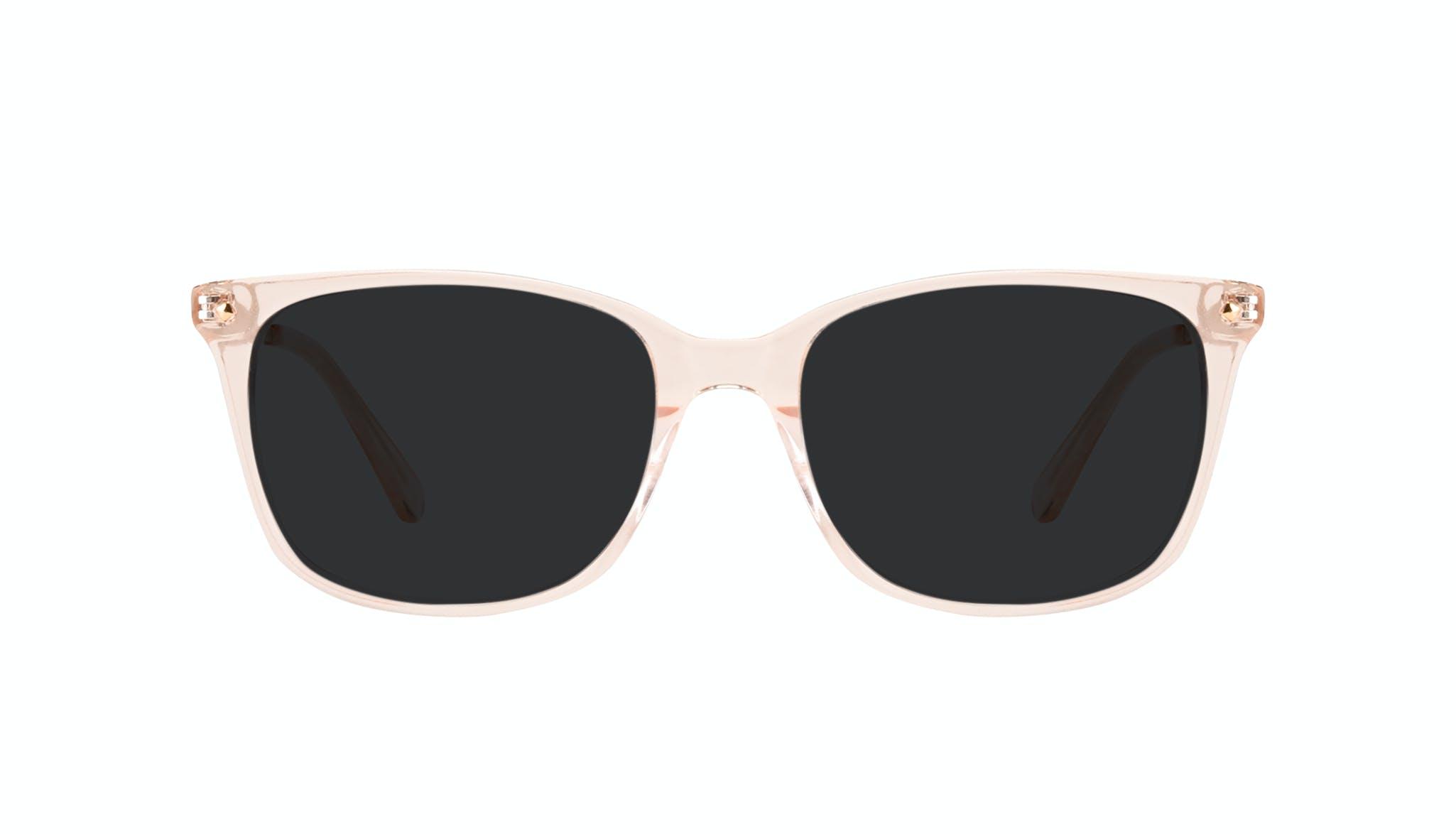 Affordable Fashion Glasses Rectangle Square Sunglasses Women Refine Blond Front