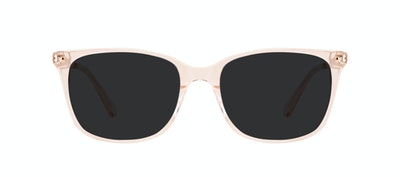 Affordable Fashion Glasses Rectangle Square Sunglasses Women Refine M Blond Front