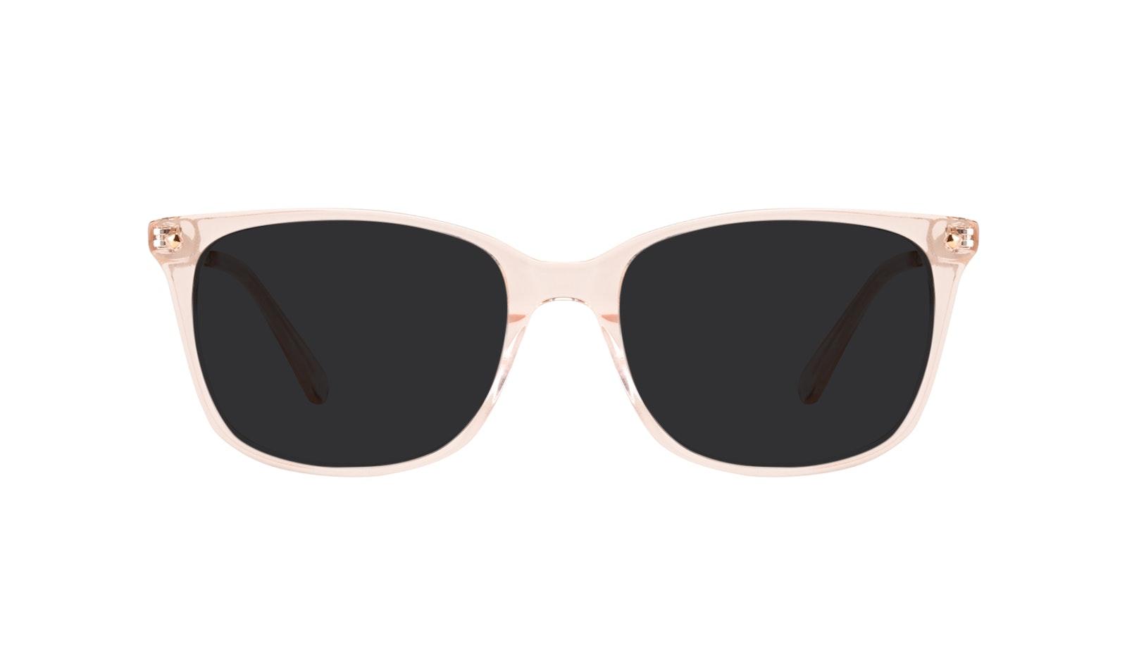 Lunettes tendance Rectangle Carrée Lunettes de soleil Femmes Refine Blond