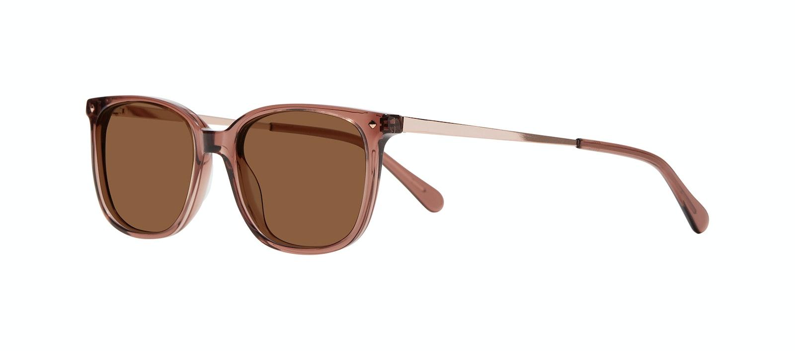 Affordable Fashion Glasses Rectangle Square Sunglasses Women Refine Dark Terra Tilt