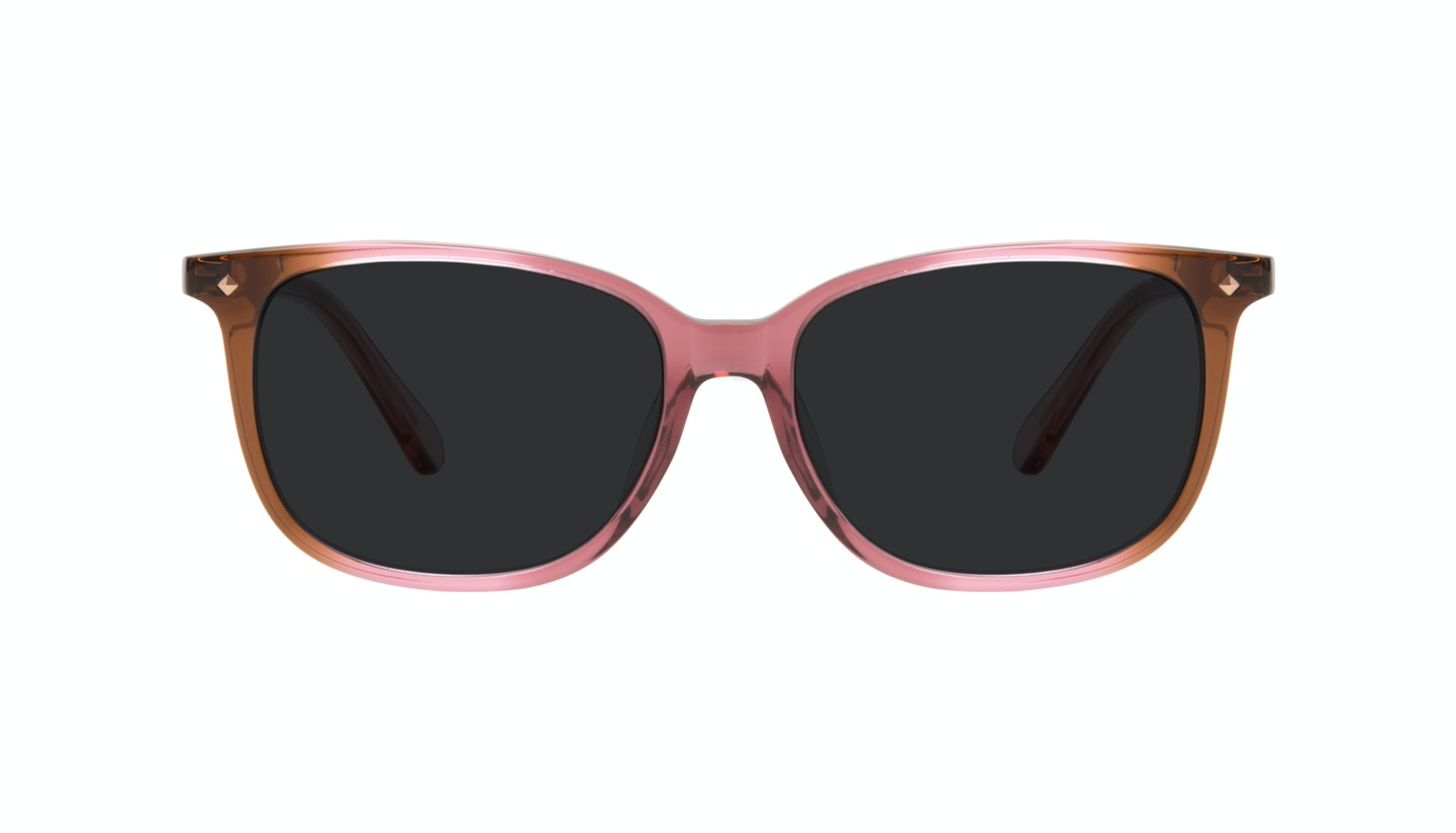 Affordable Fashion Glasses Square Sunglasses Women Refine Petite Garnet