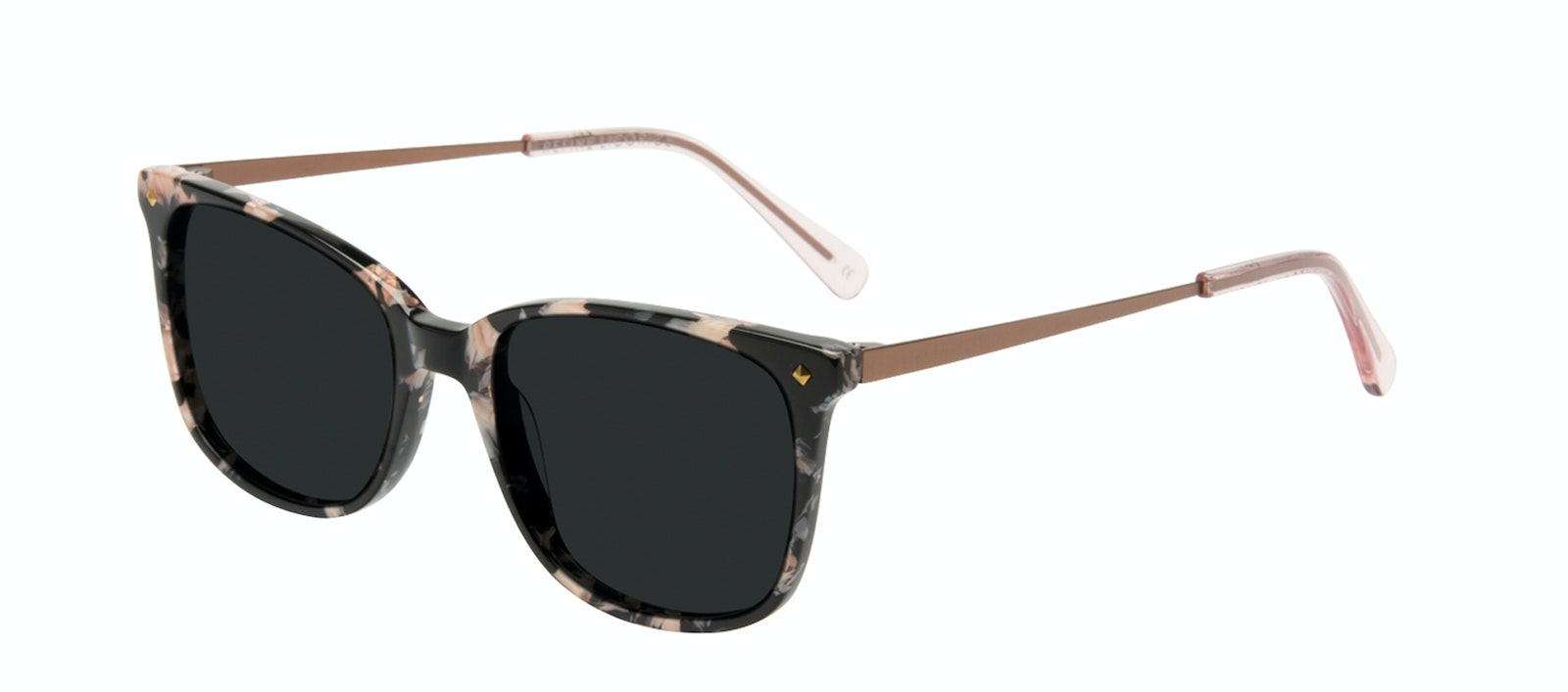Affordable Fashion Glasses Rectangle Square Sunglasses Women Refine Licorice Tilt