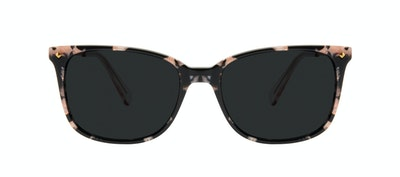 Affordable Fashion Glasses Rectangle Square Sunglasses Women Refine M Licorice Front
