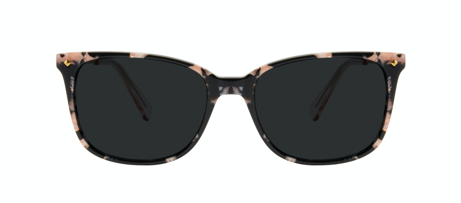 Affordable Fashion Glasses Rectangle Square Sunglasses Women Refine Licorice Front