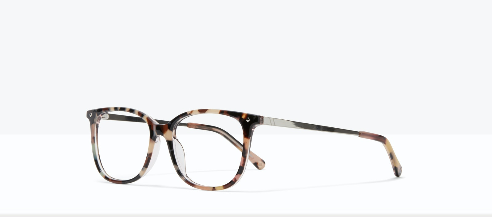 Affordable Fashion Glasses Rectangle Square Eyeglasses Women Refine S Pastel Tort Tilt